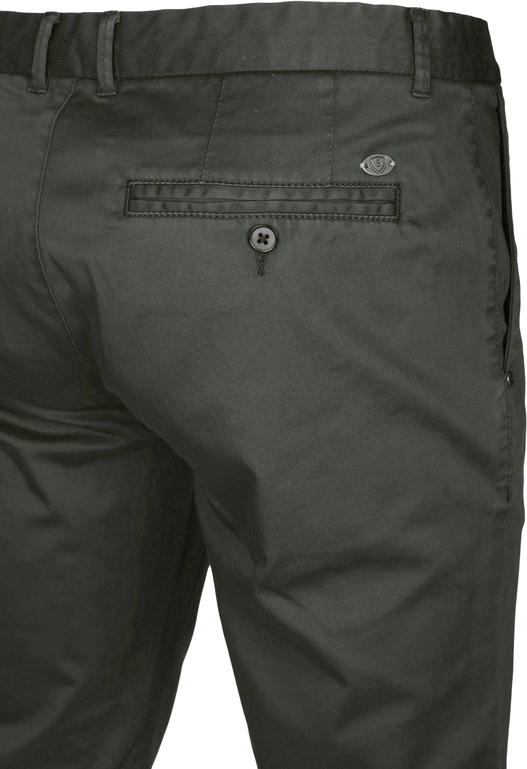 Suitable Chino Dante Dark Olive foto 3