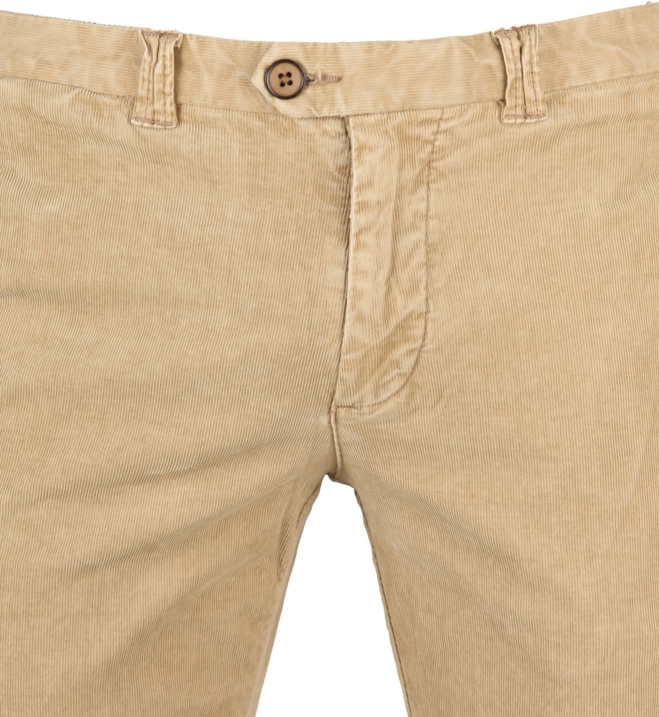 Suitable Chino Dante Smart Beige Corduroy foto 2