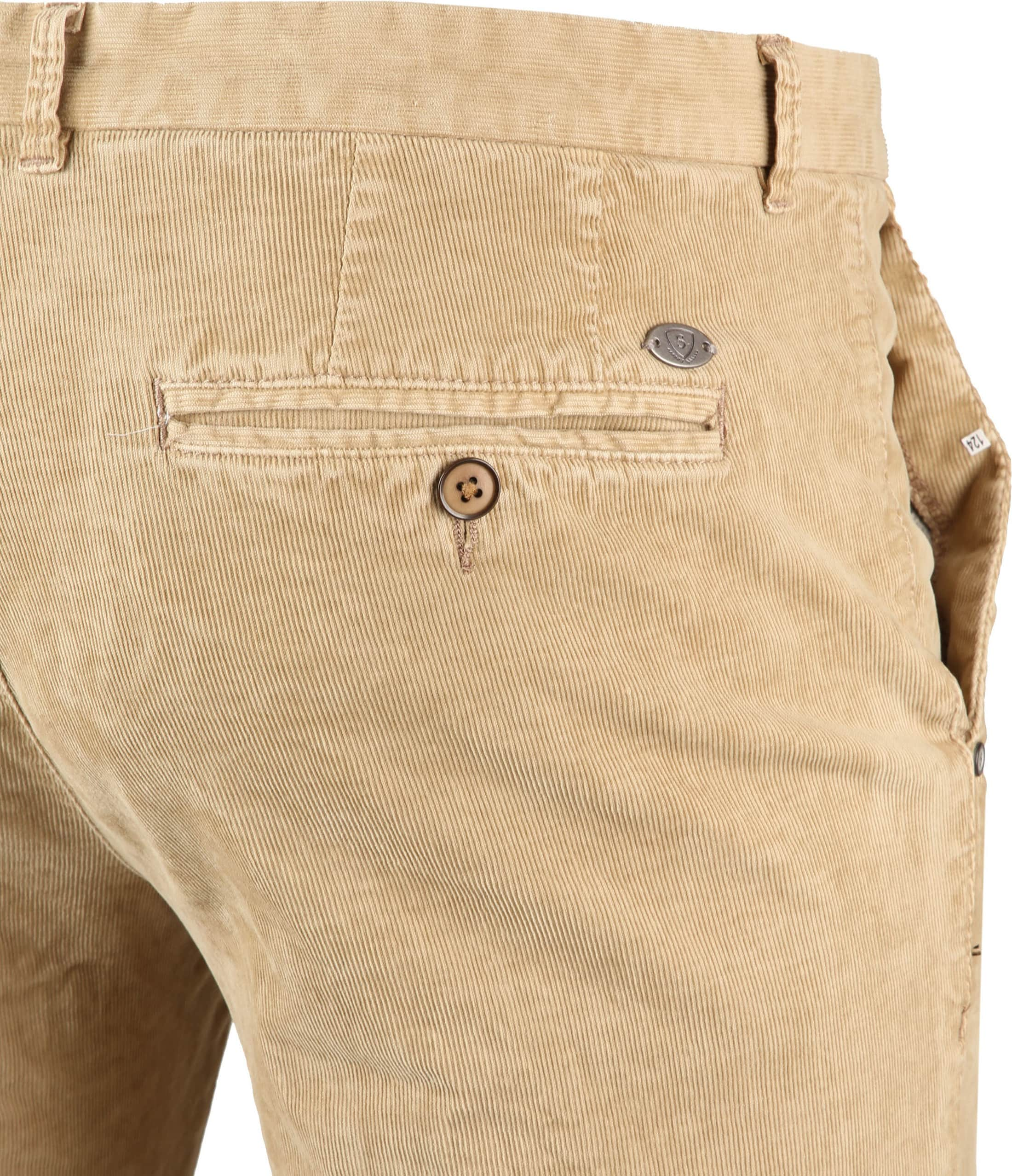 Suitable Chino Dante Smart Beige Corduroy foto 3