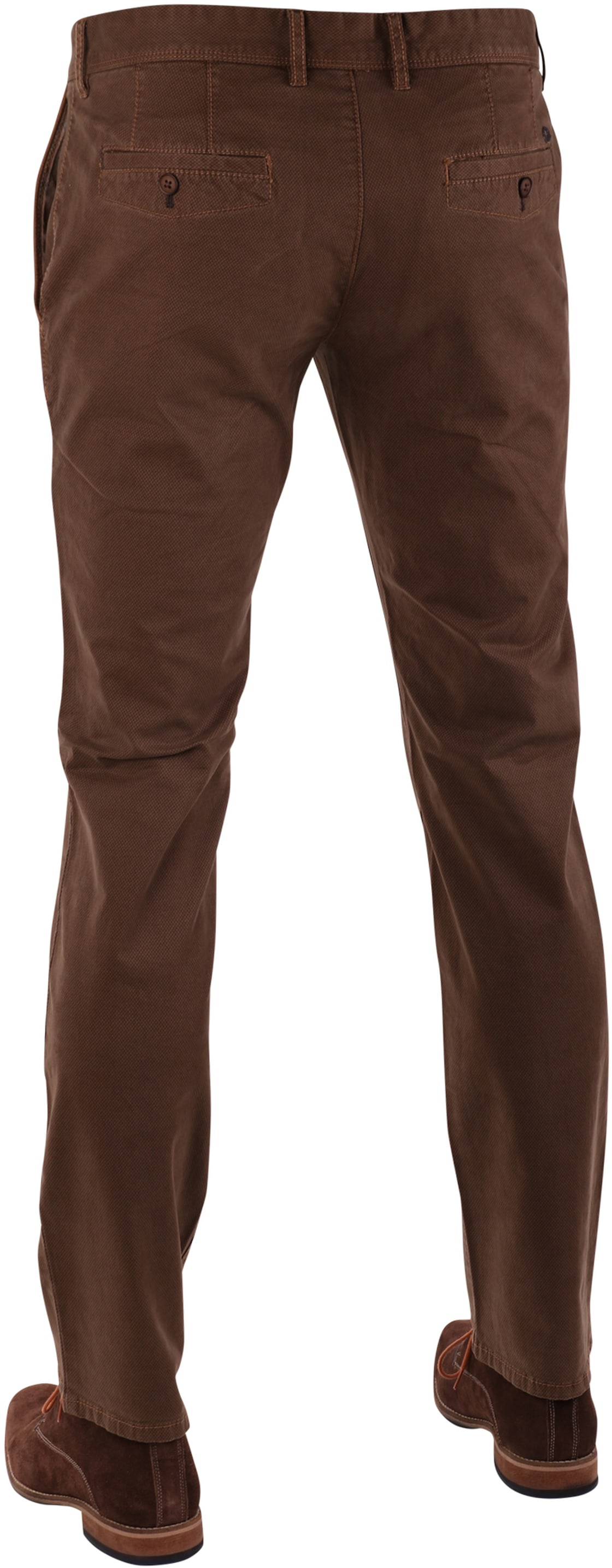 Suitable Chino Hose Khaki Print
