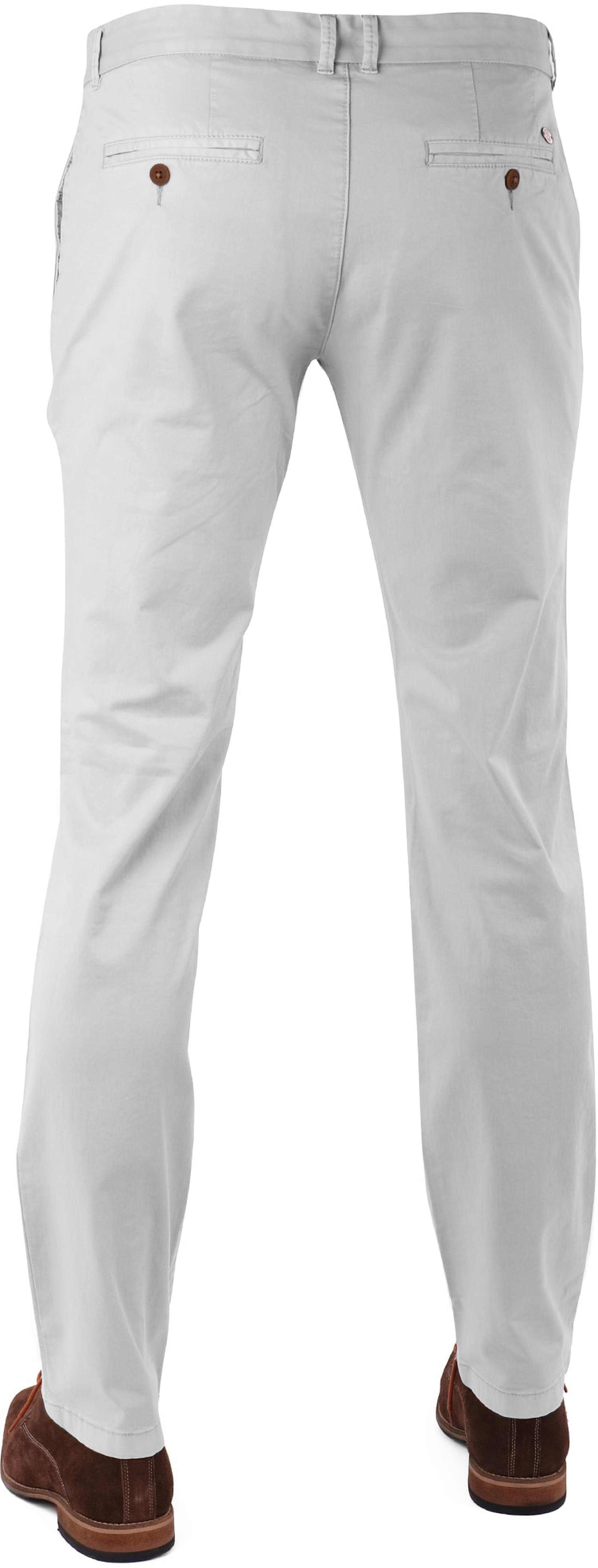 Suitable Chino Hose Light Grey foto 4