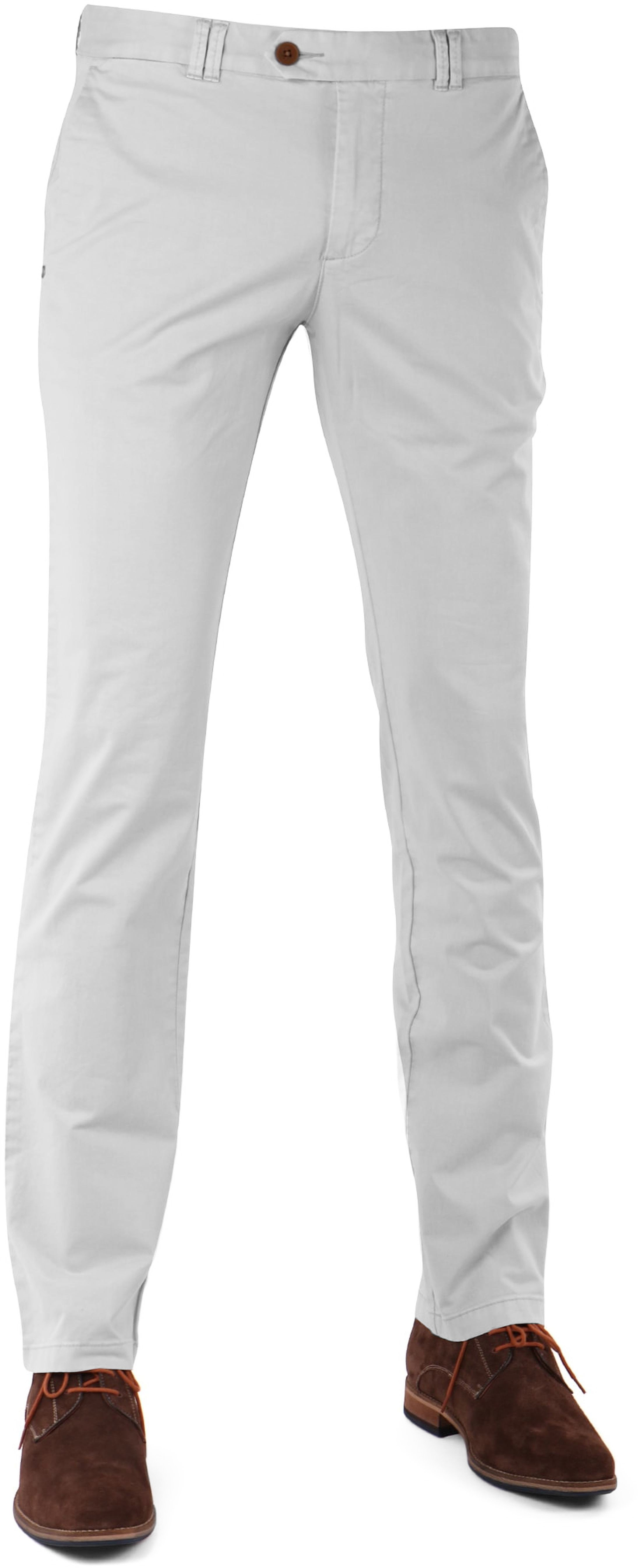 Suitable Chino Hose Light Grey foto 0