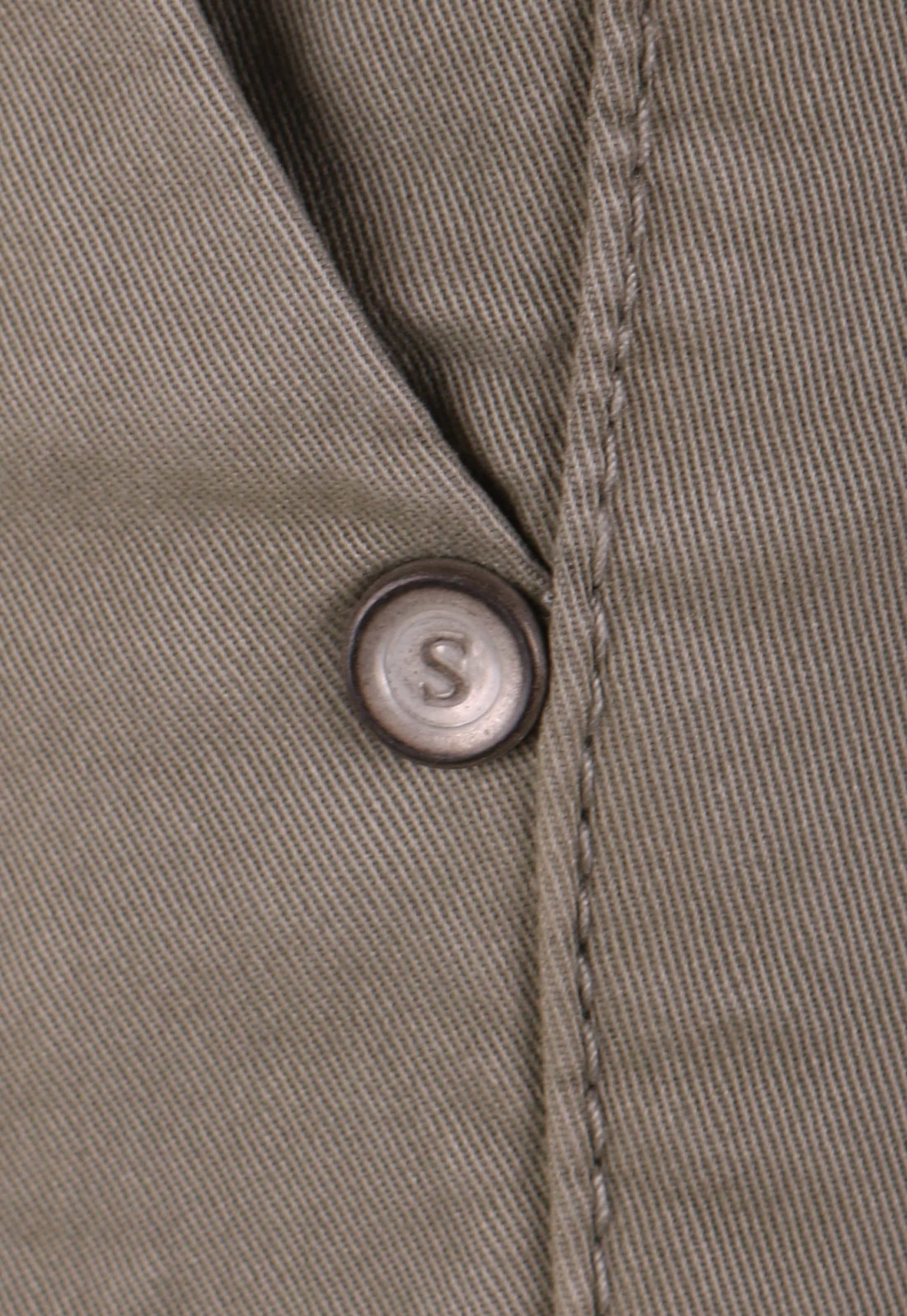 Suitable Chino Hose Olive Grün foto 3