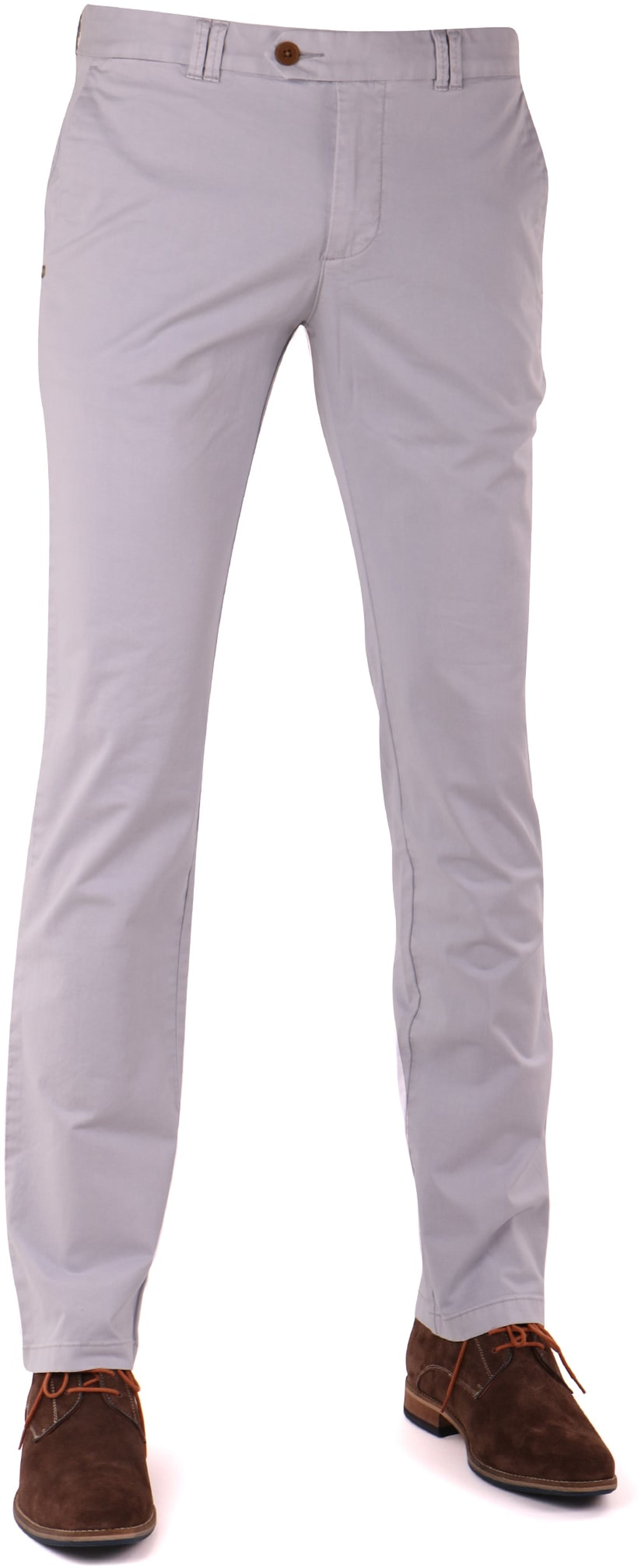 Suitable Chino Jeans Light Grey foto 0