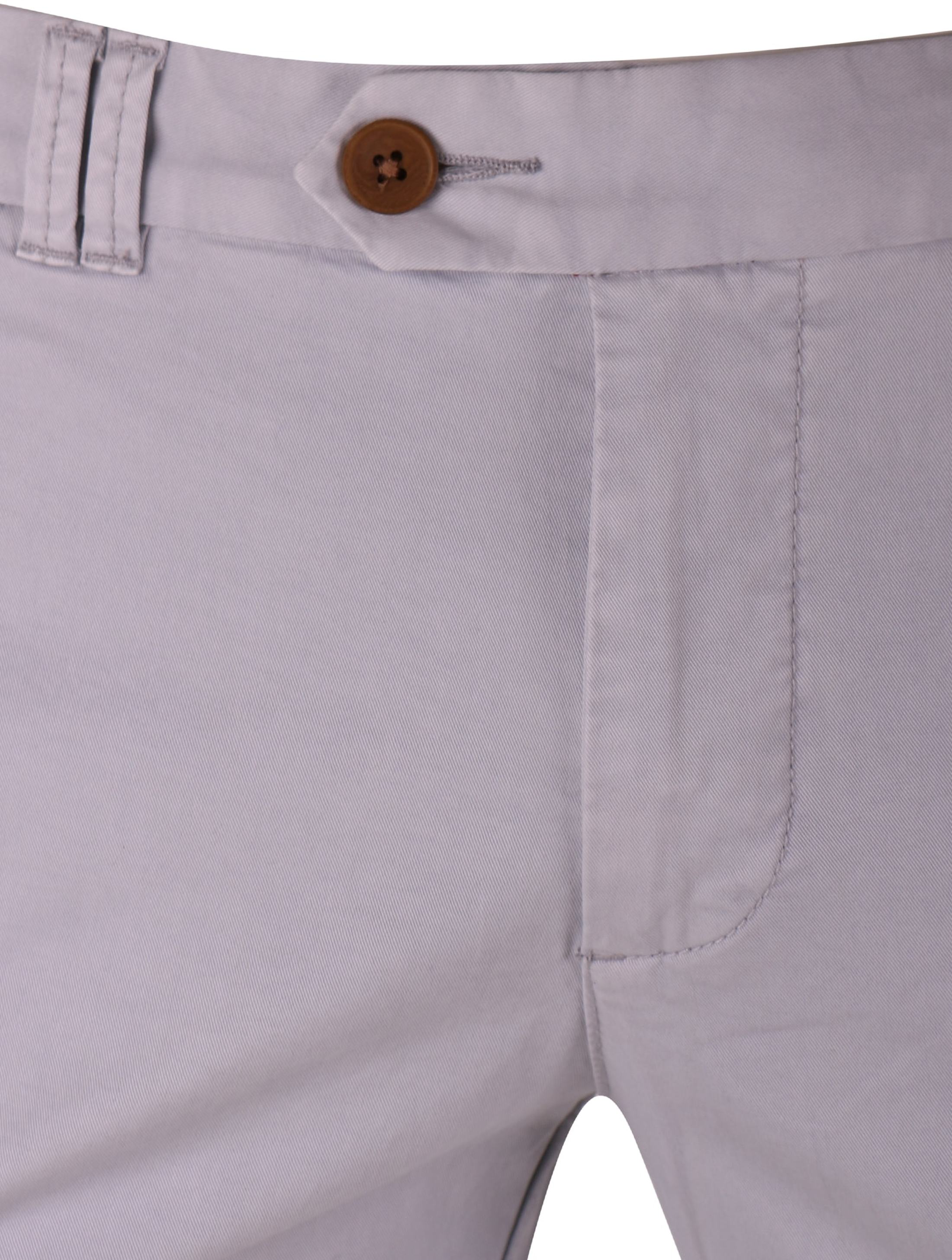 Suitable Chino Jeans Light Grey foto 2