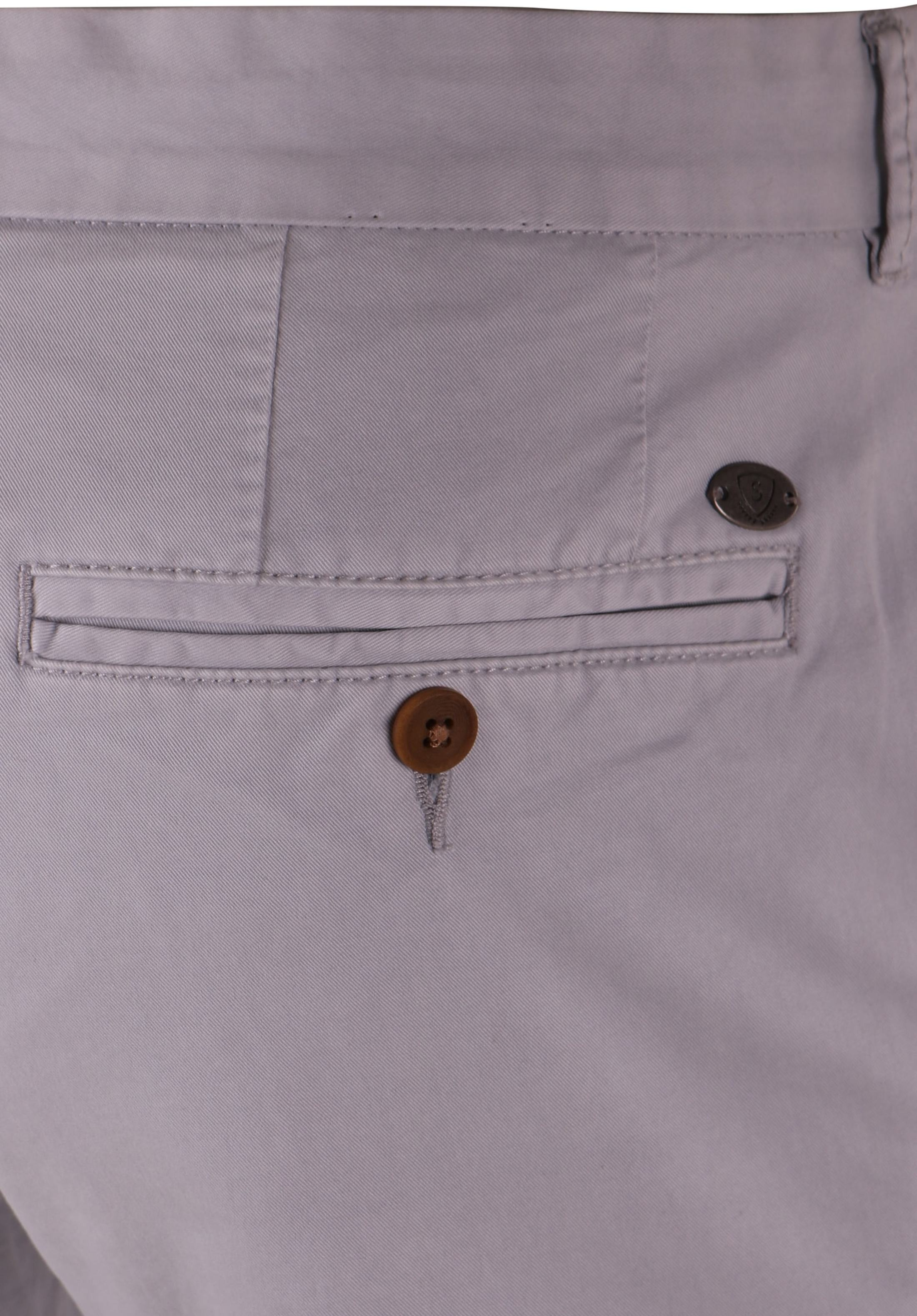 Suitable Chino Jeans Light Grey foto 4