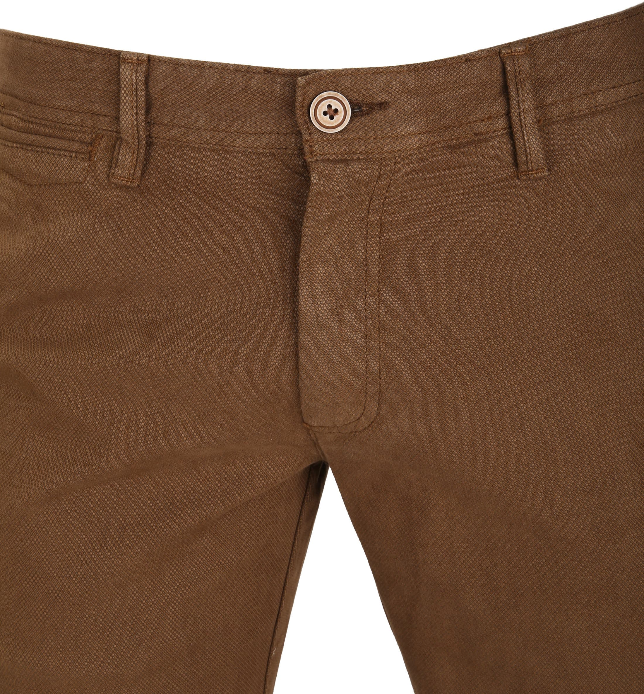 Suitable Chino Oakville Dessin Bruin foto 1