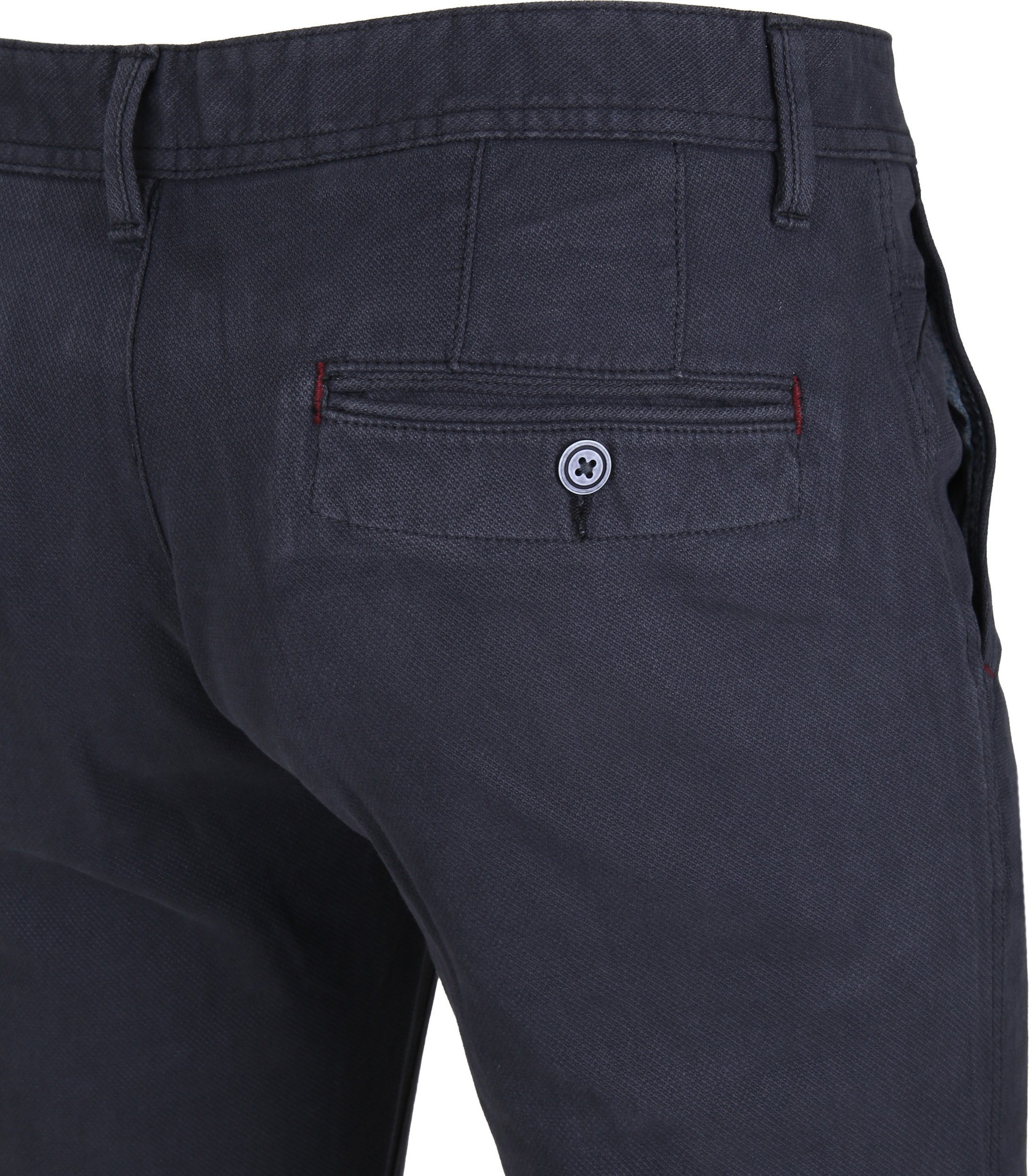 Suitable Chino Oakville Dessin Navy foto 3