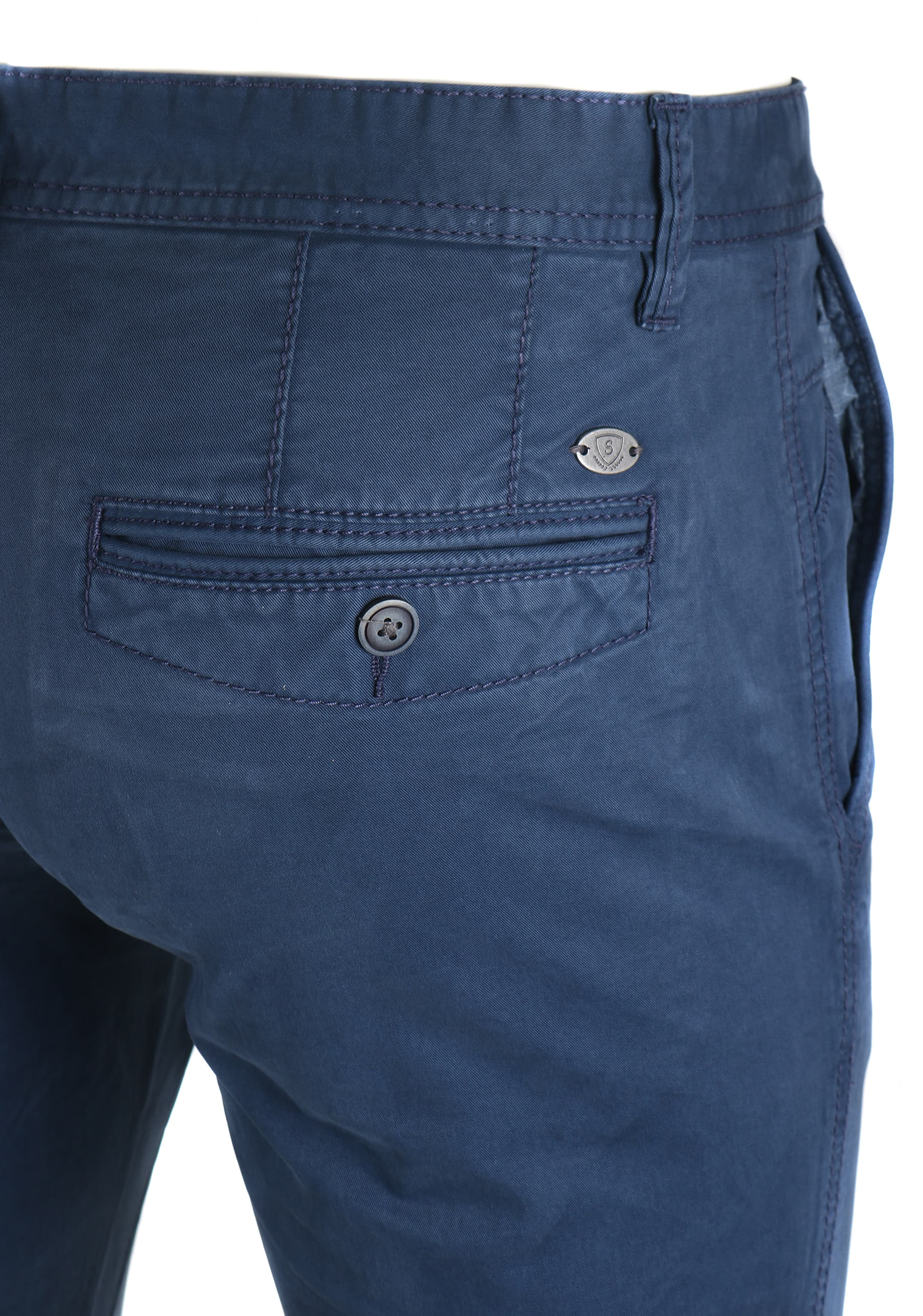 Suitable Chino Oakville Donkerblauw foto 3