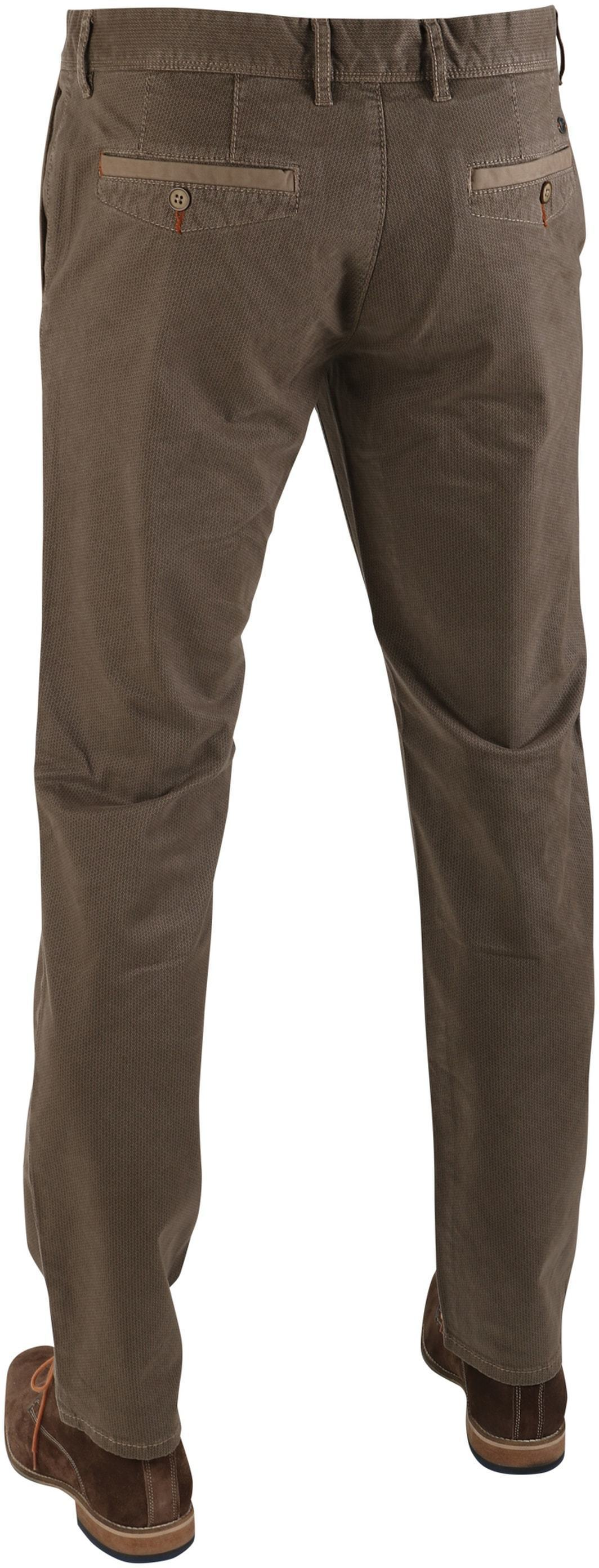 Suitable Chino Oakville Taupe Print foto 1