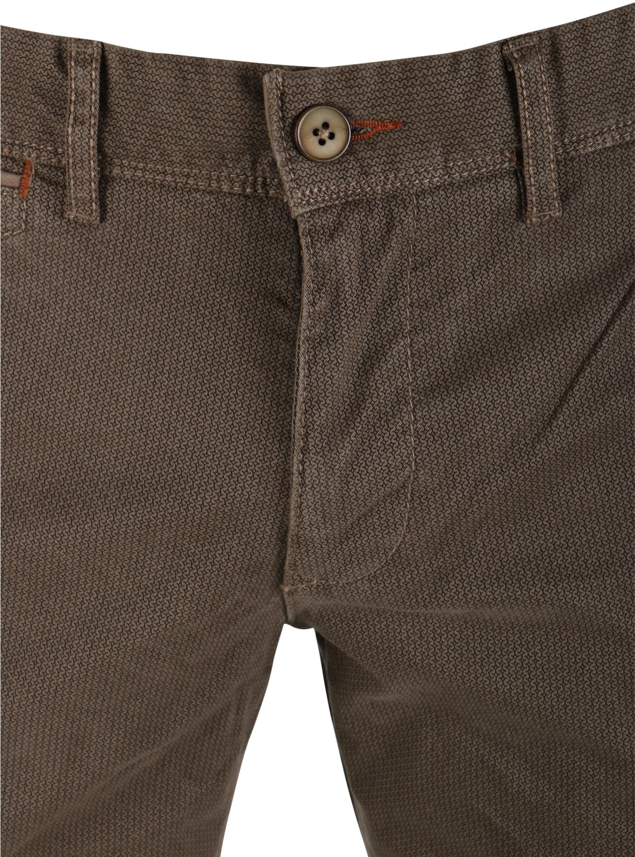 Suitable Chino Oakville Taupe Print foto 2