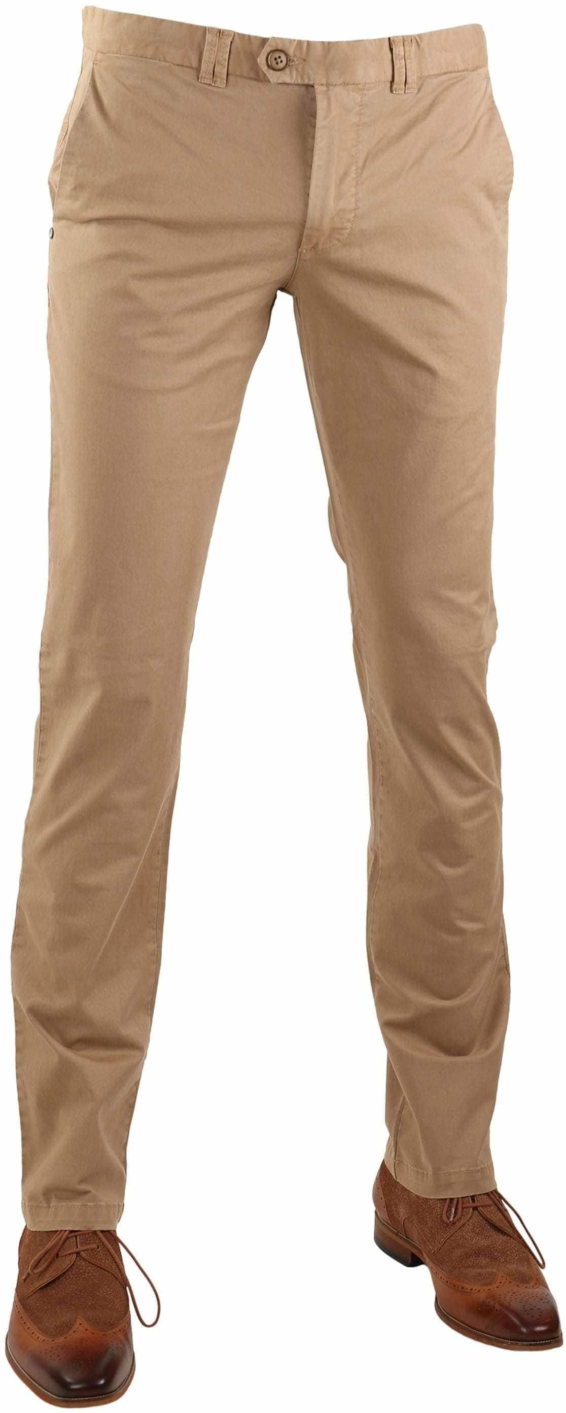 Suitable Chino Pants Dante Khaki foto 0