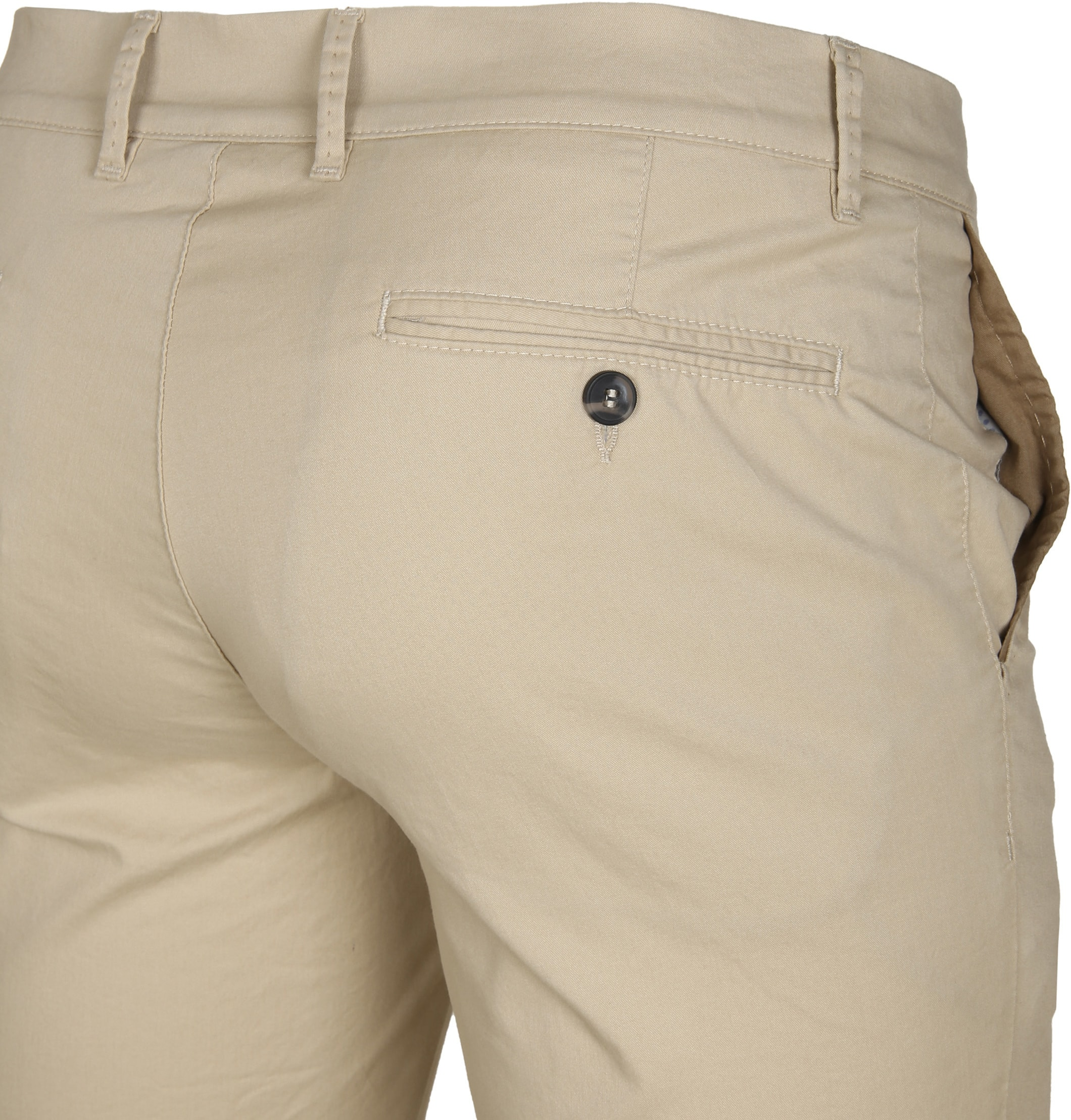 Suitable Chino Short Beige foto 3