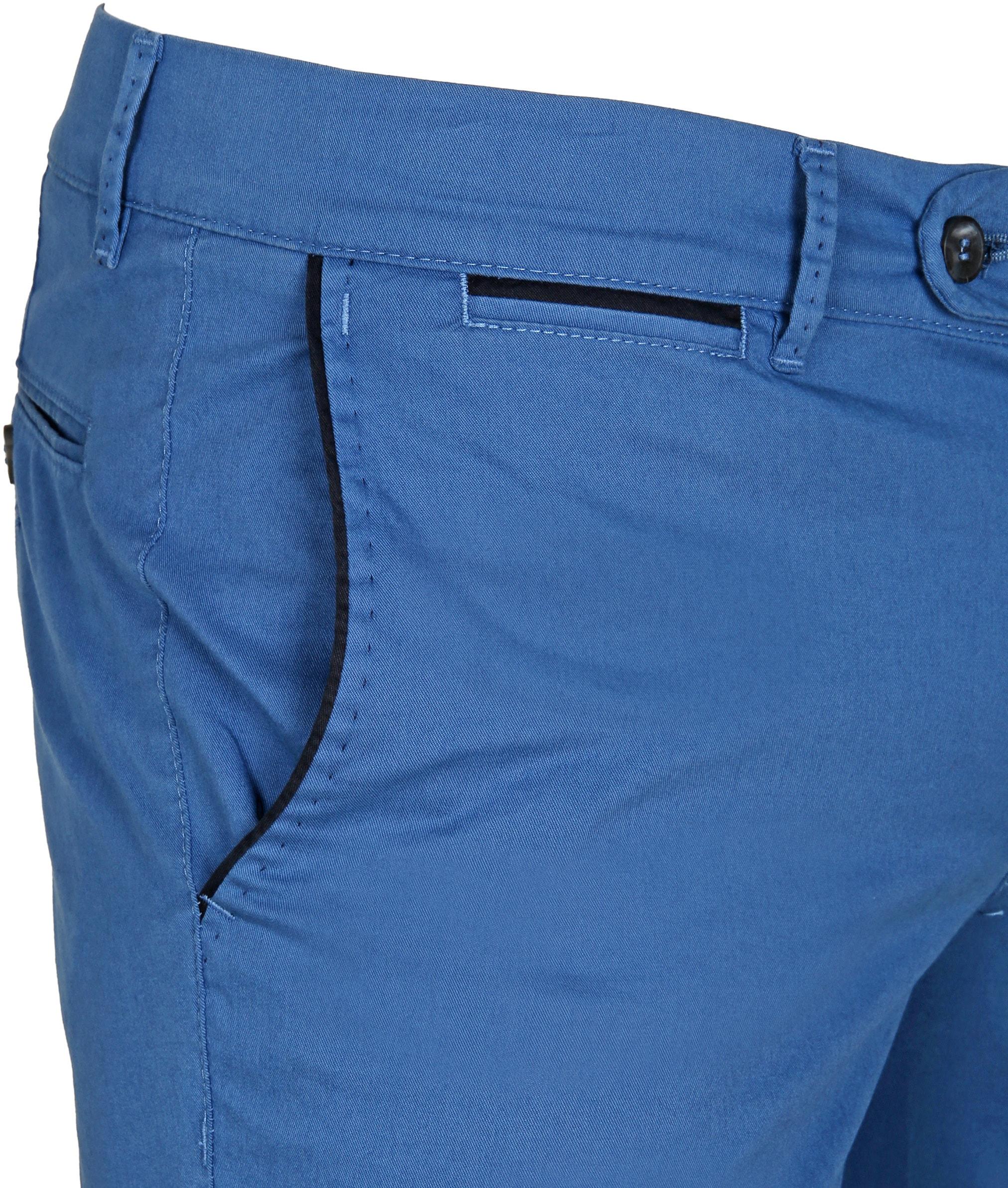 Suitable Chino Short Blauw foto 1