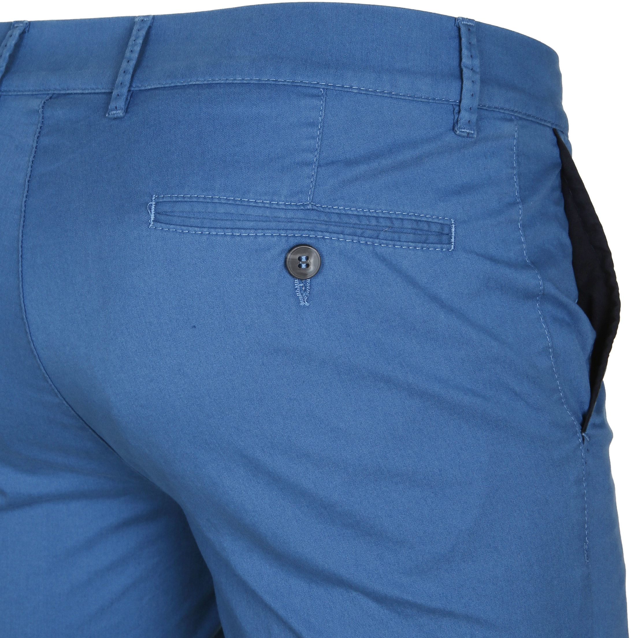 Suitable Chino Short Blauw foto 3