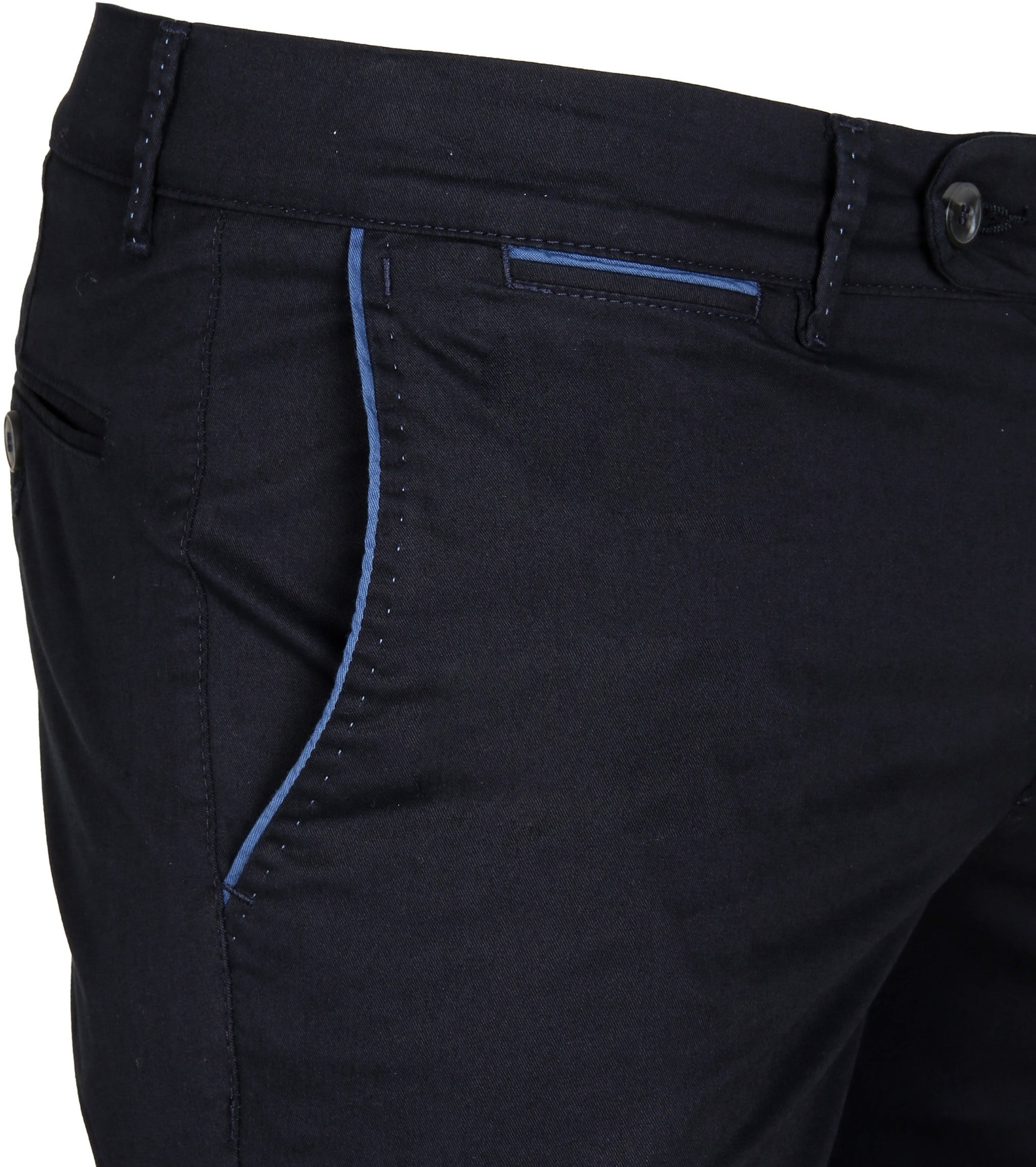 Suitable Chino Short Dunkelblau foto 1
