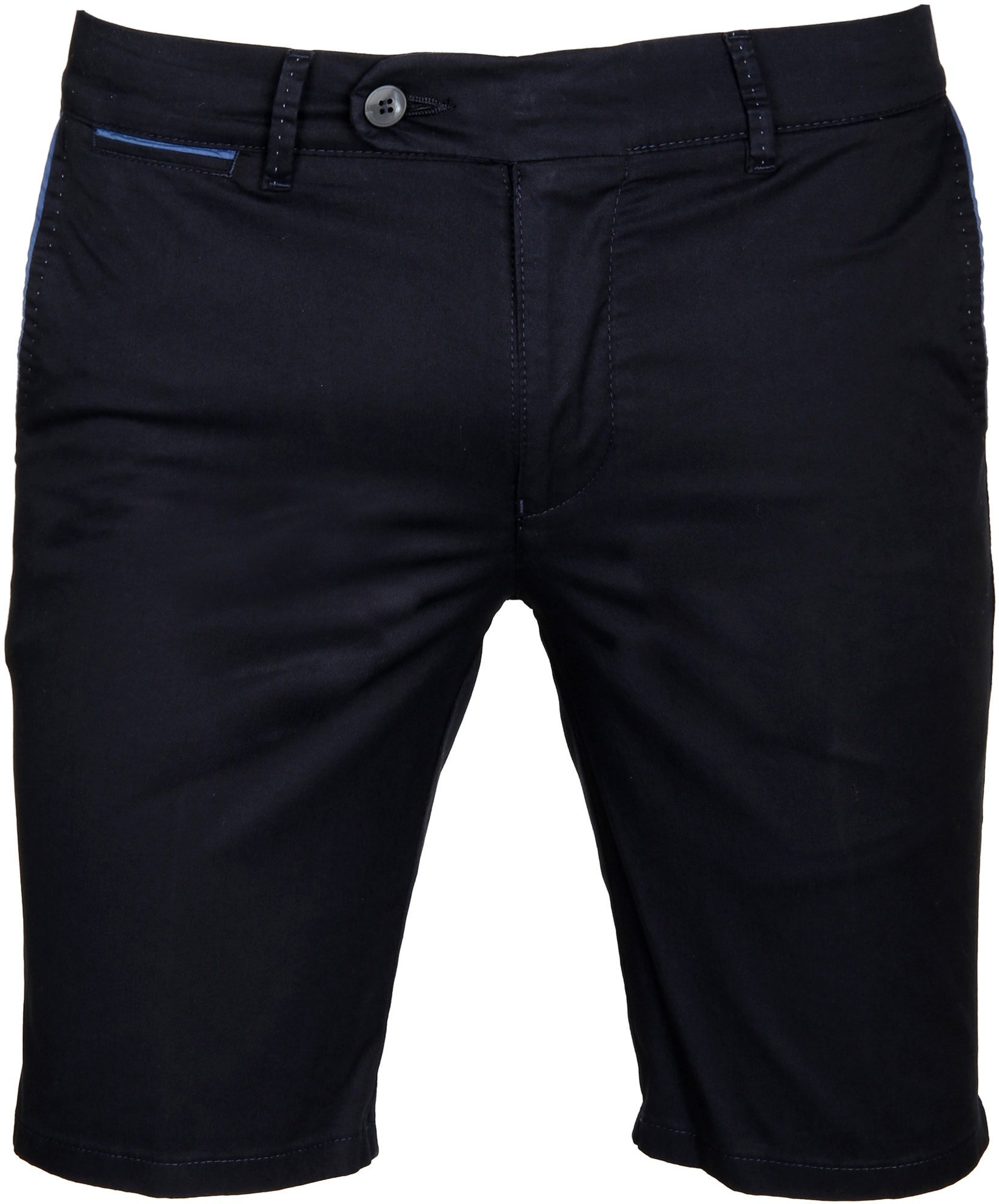 Suitable Chino Short Navy foto 0
