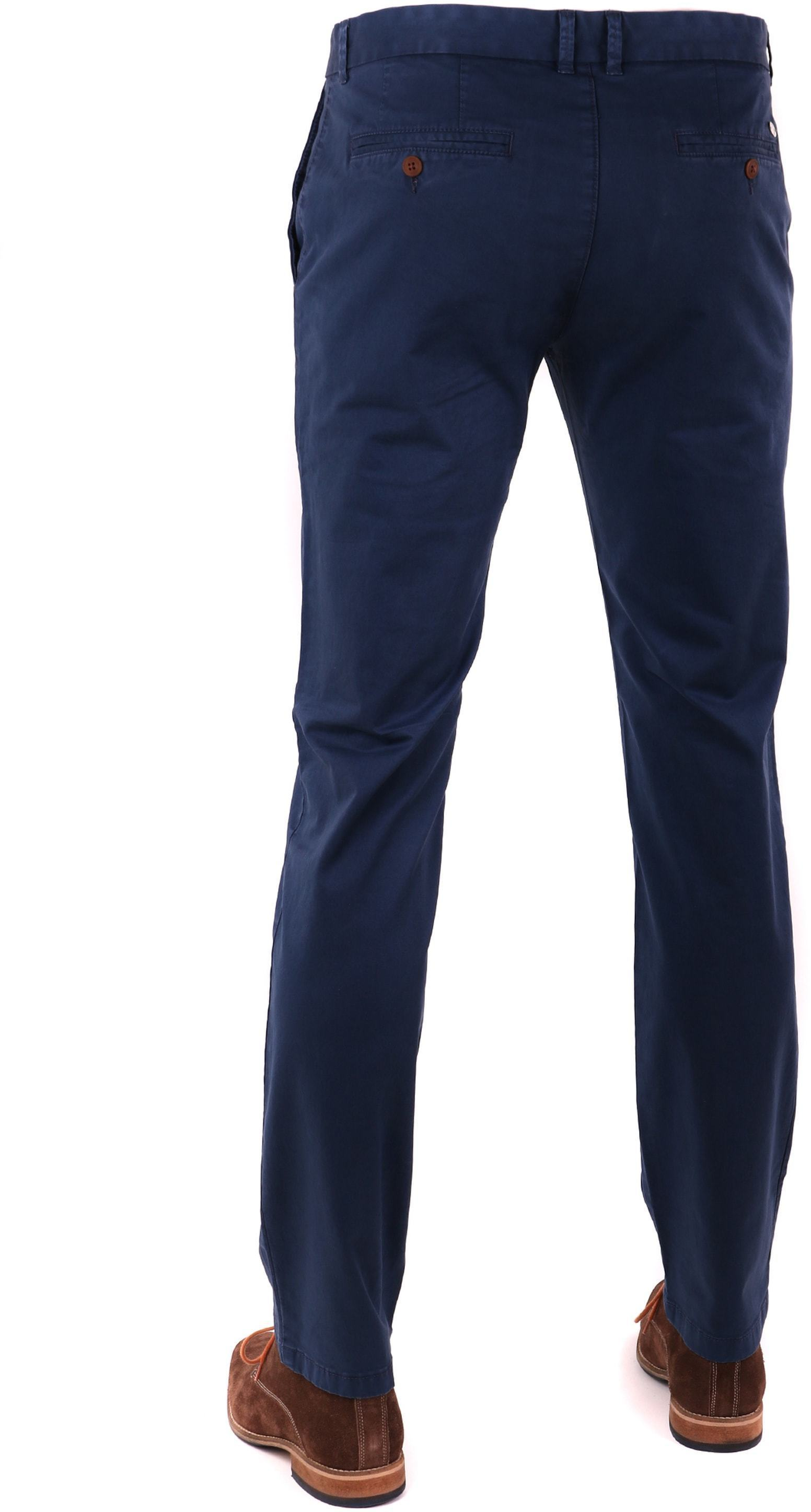 Suitable Chino Trousers Dark Blue foto 1