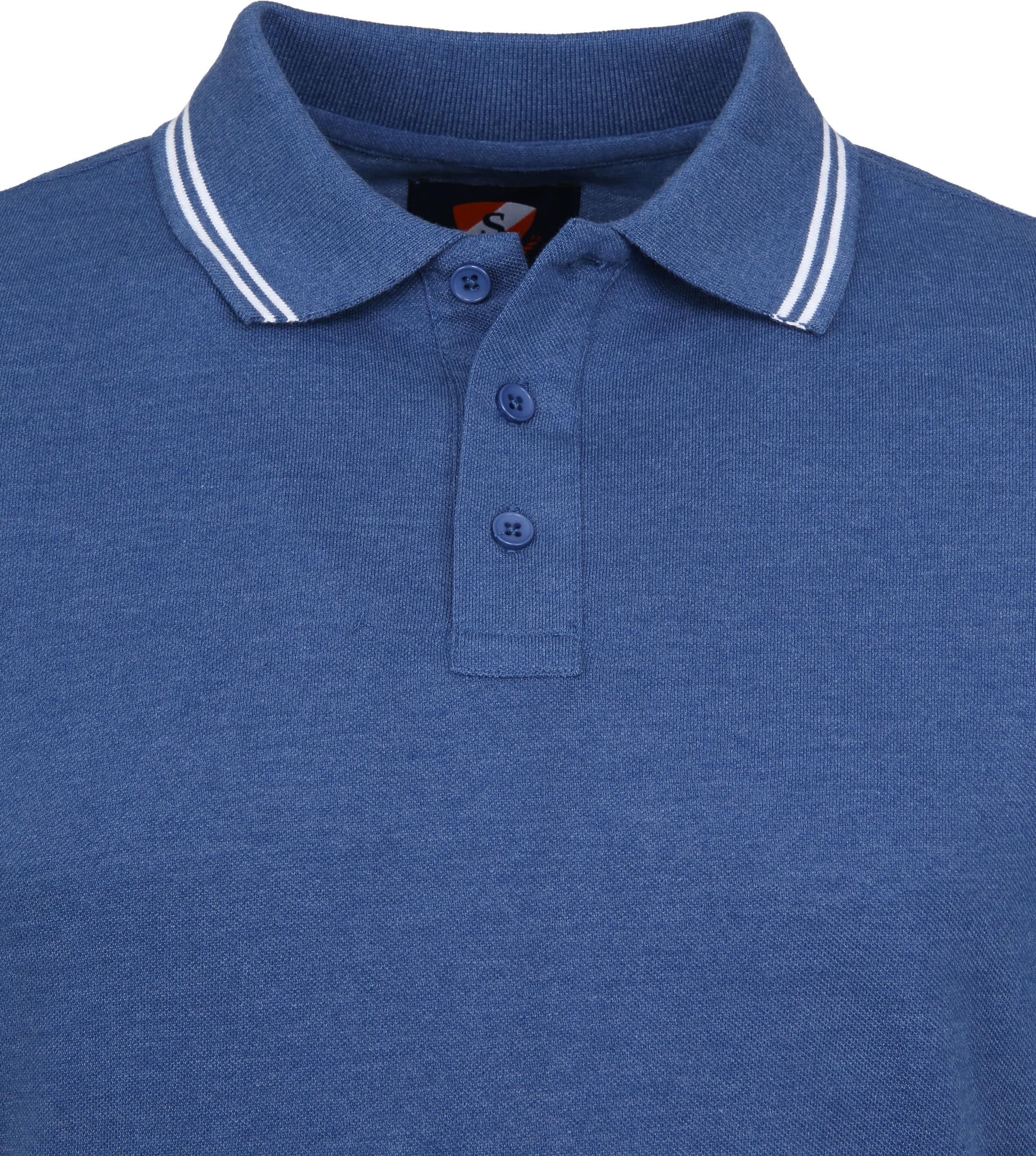 Suitable Chipp Poloshirt Blue foto 1