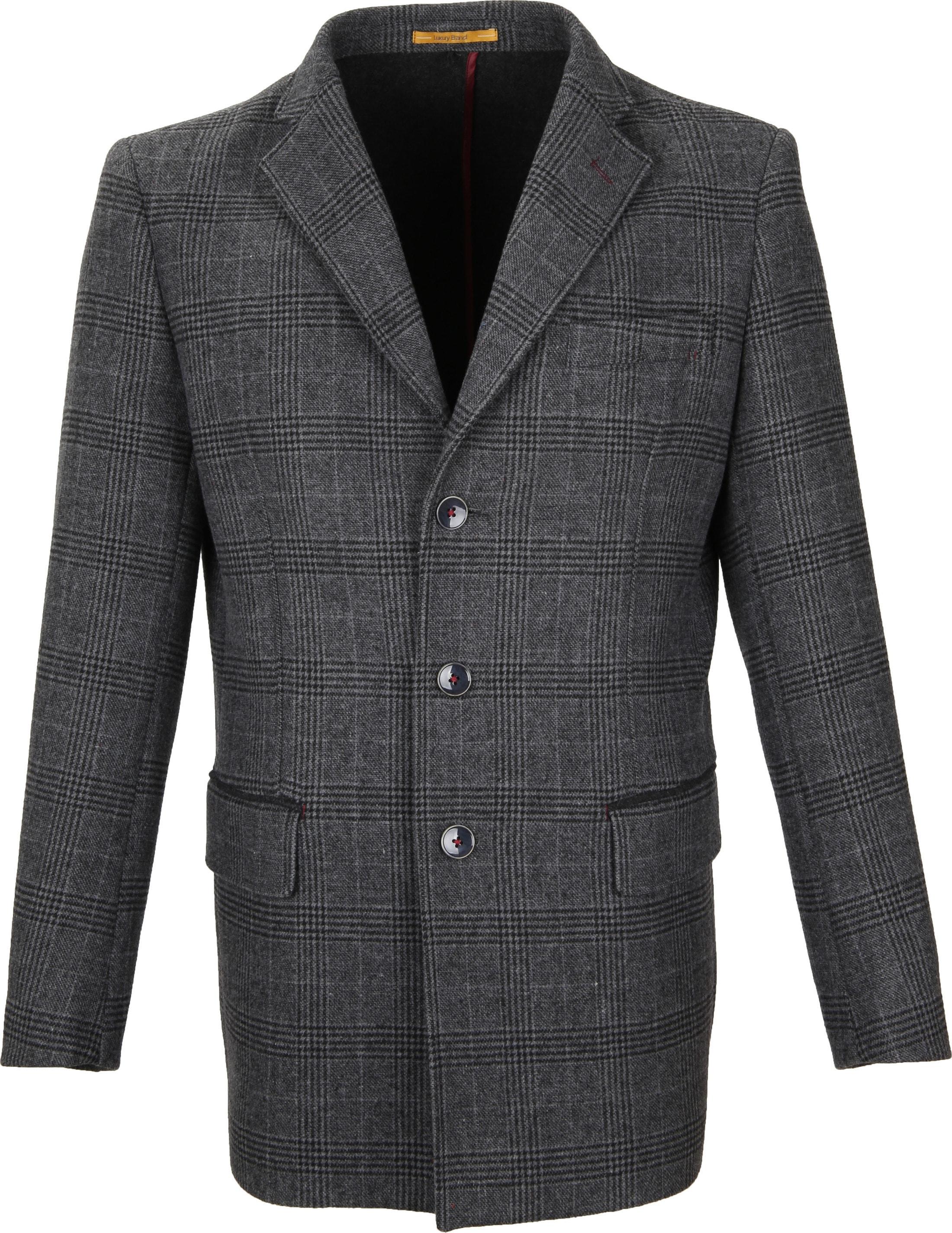 Suitable Coat Anton Antraciet foto 1