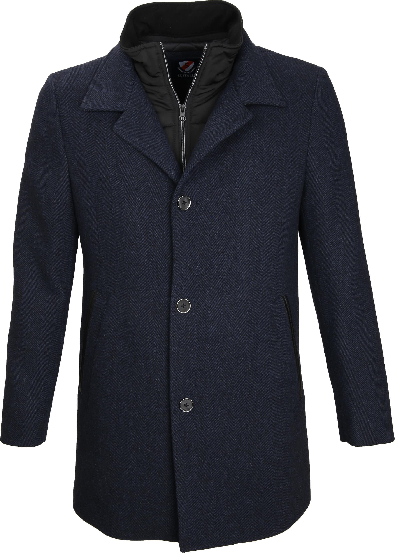 Suitable Coat Geke Inlay Indigo foto 0