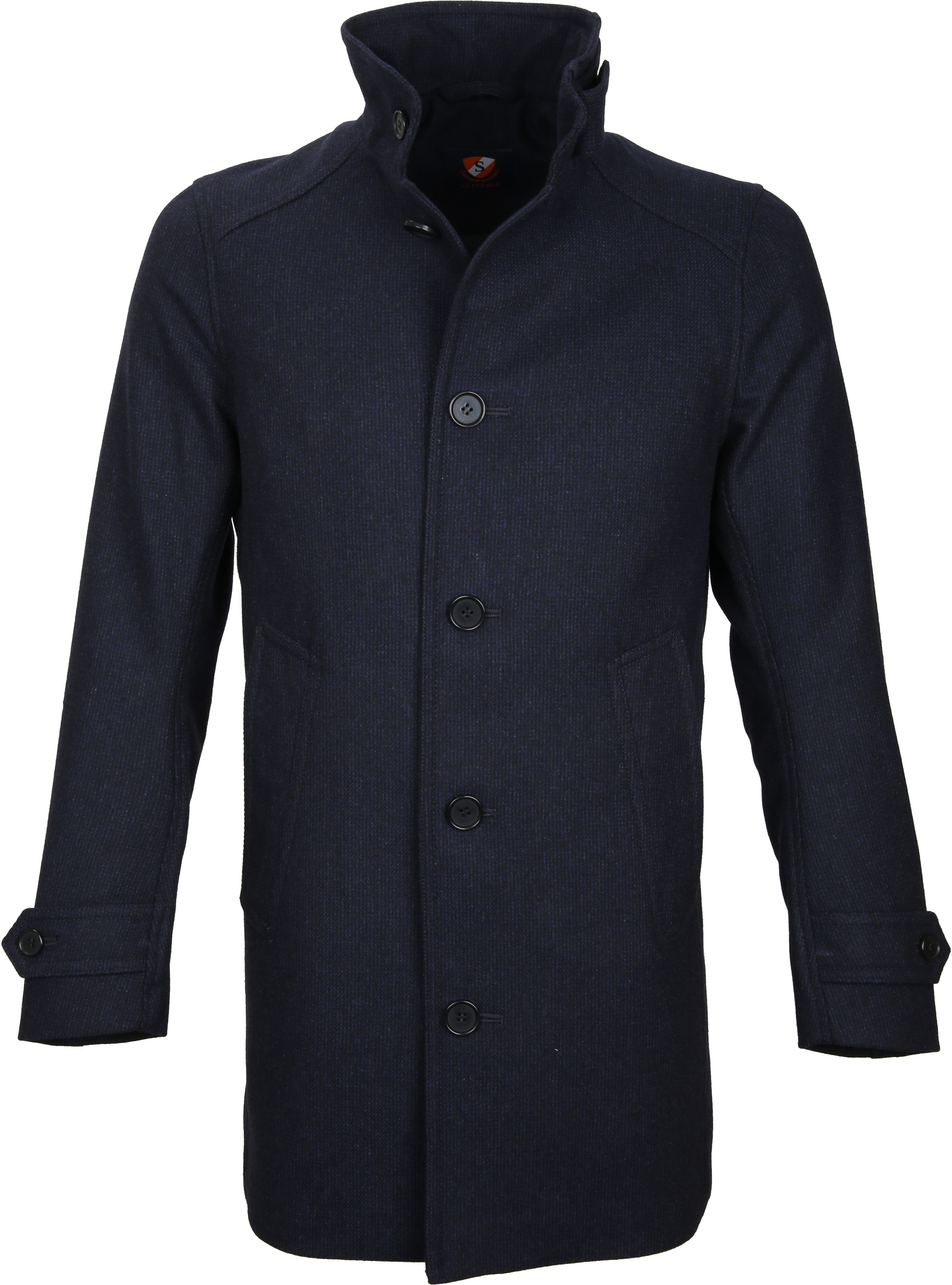 Suitable Coat Gerwin Navy foto 0