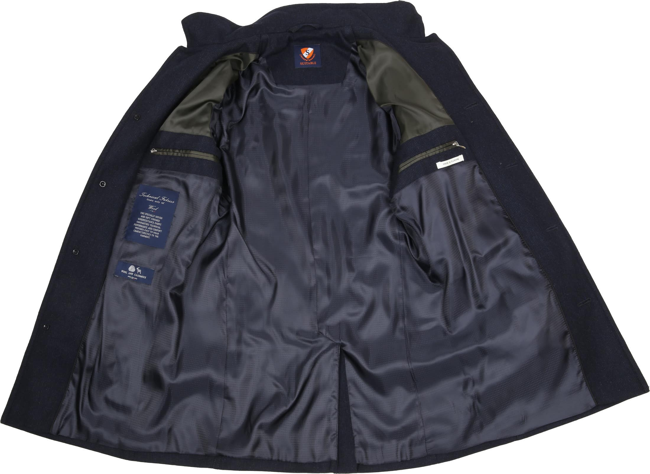 Suitable Coat Gerwin Navy foto 7