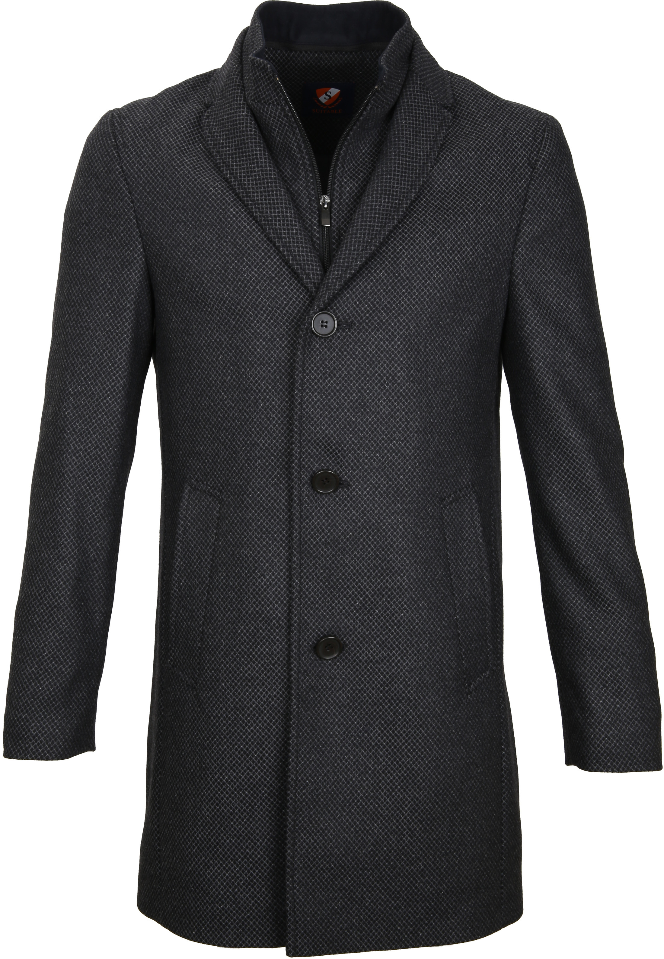 Suitable Coat Hans Diamond Grey foto 0