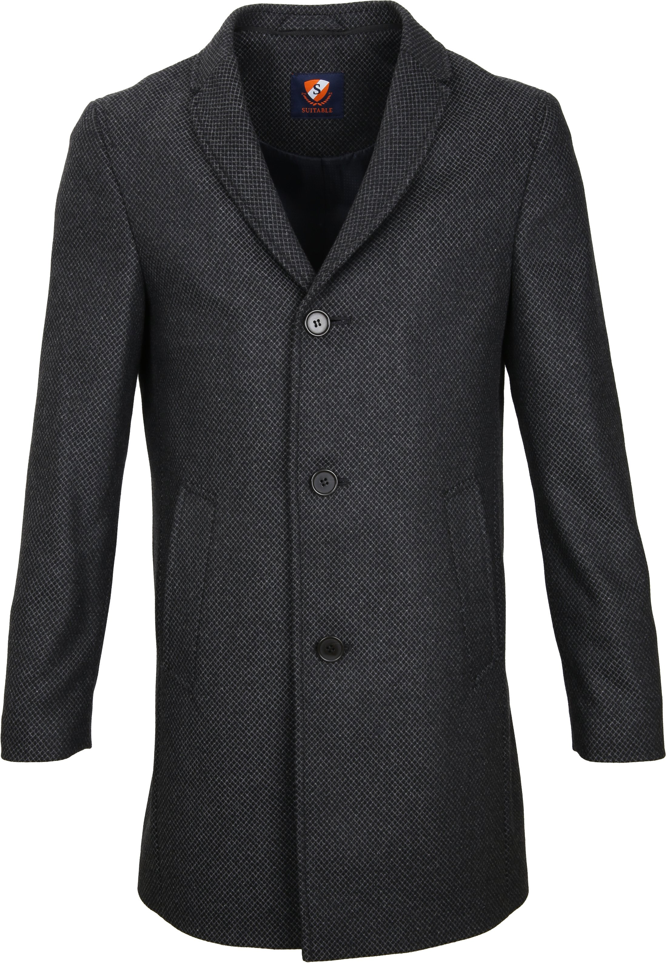 Suitable Coat Hans Diamond Grey foto 1