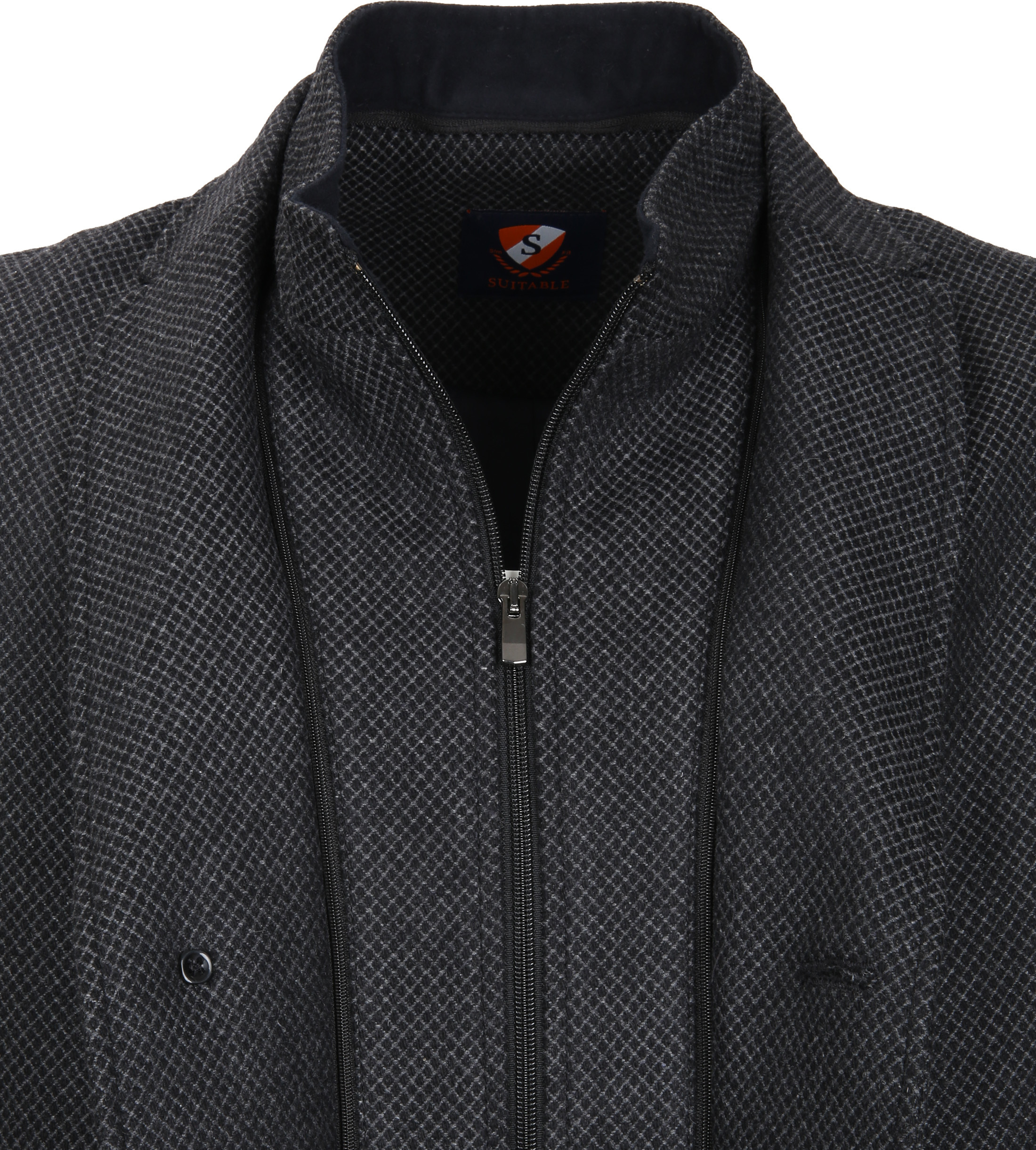 Suitable Coat Hans Diamond Grey foto 3