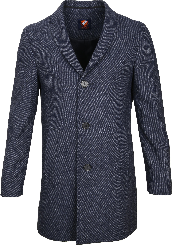 Suitable Coat Hans Jeans Navy foto 1