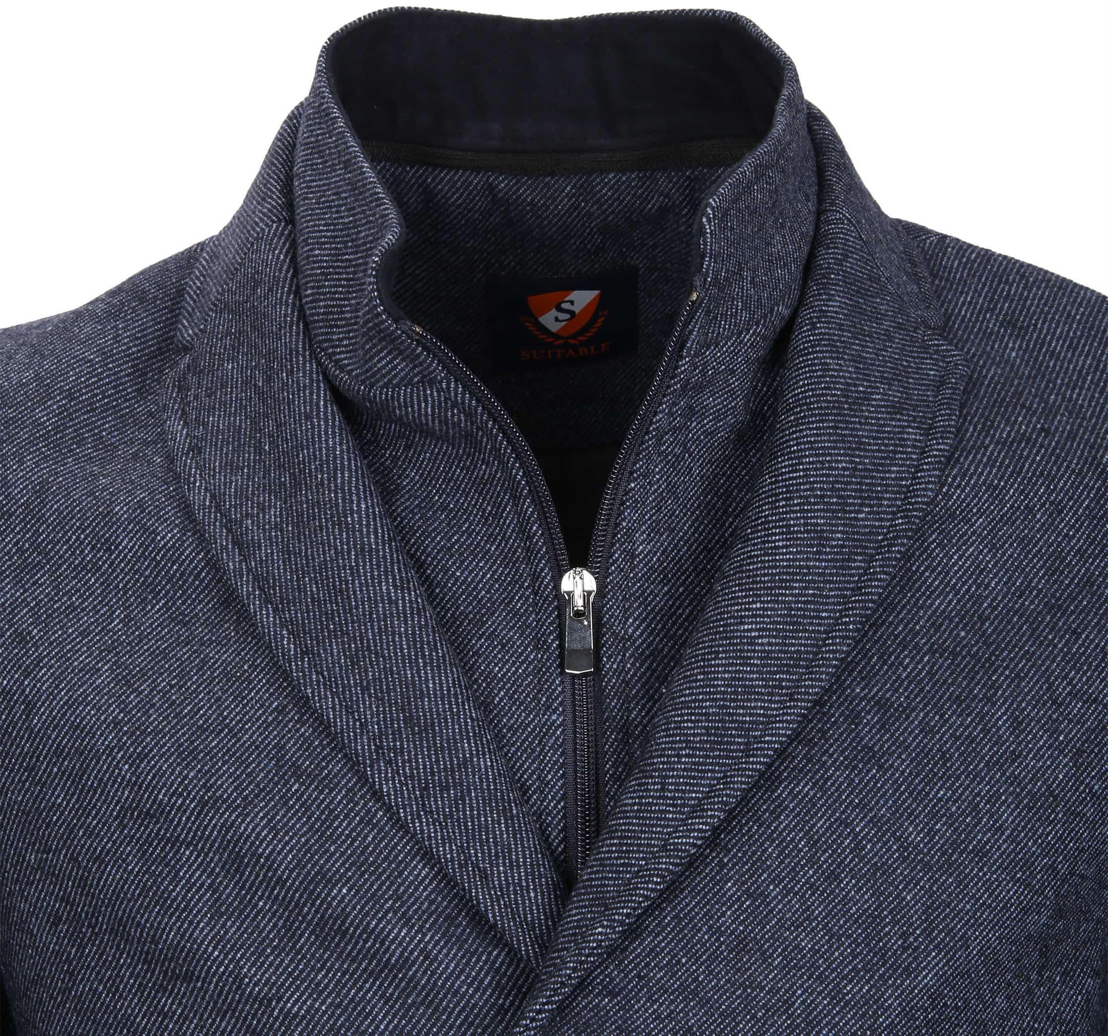 Suitable Coat Hans Jeans Navy foto 2