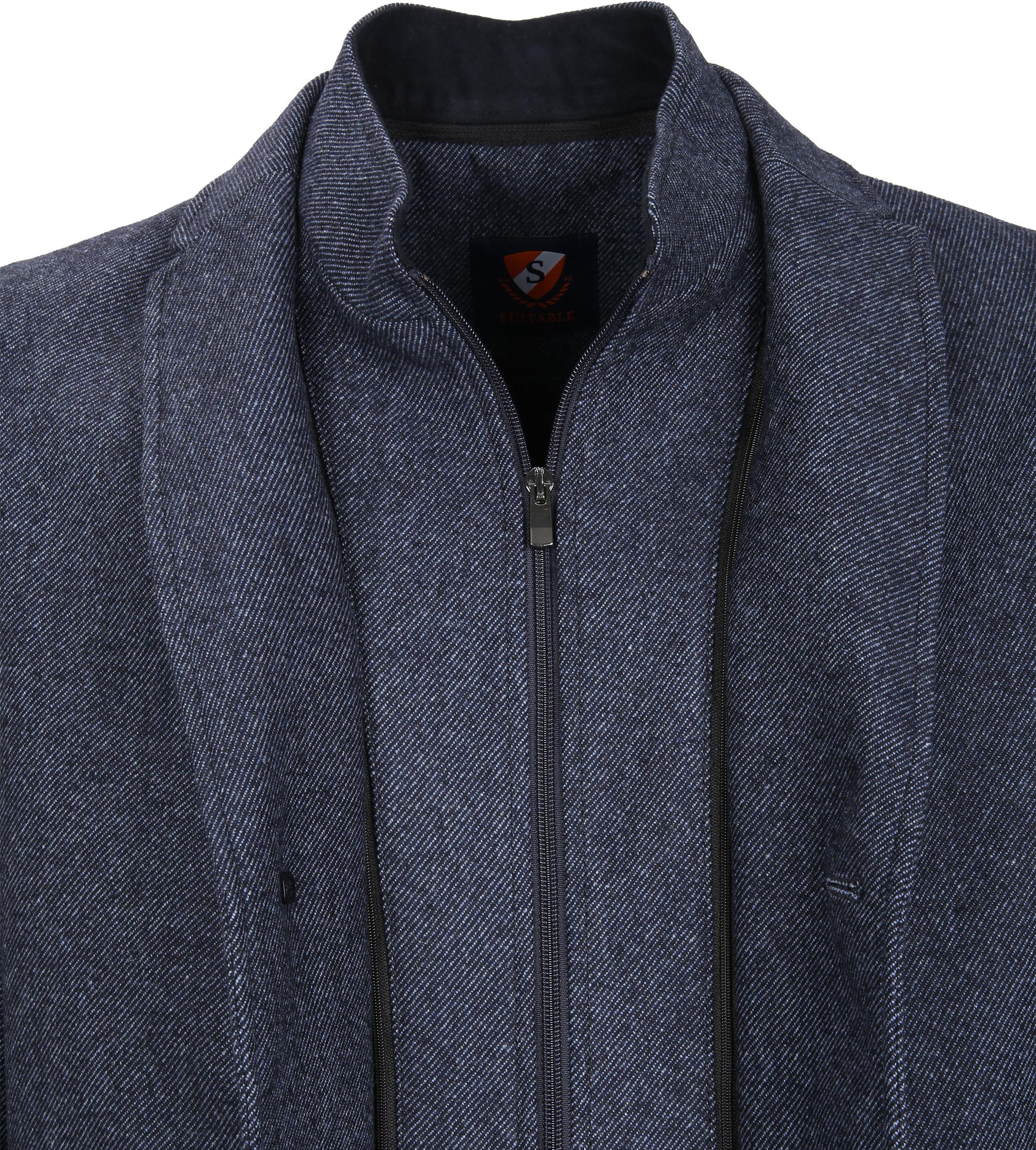 Suitable Coat Hans Jeans Navy foto 3