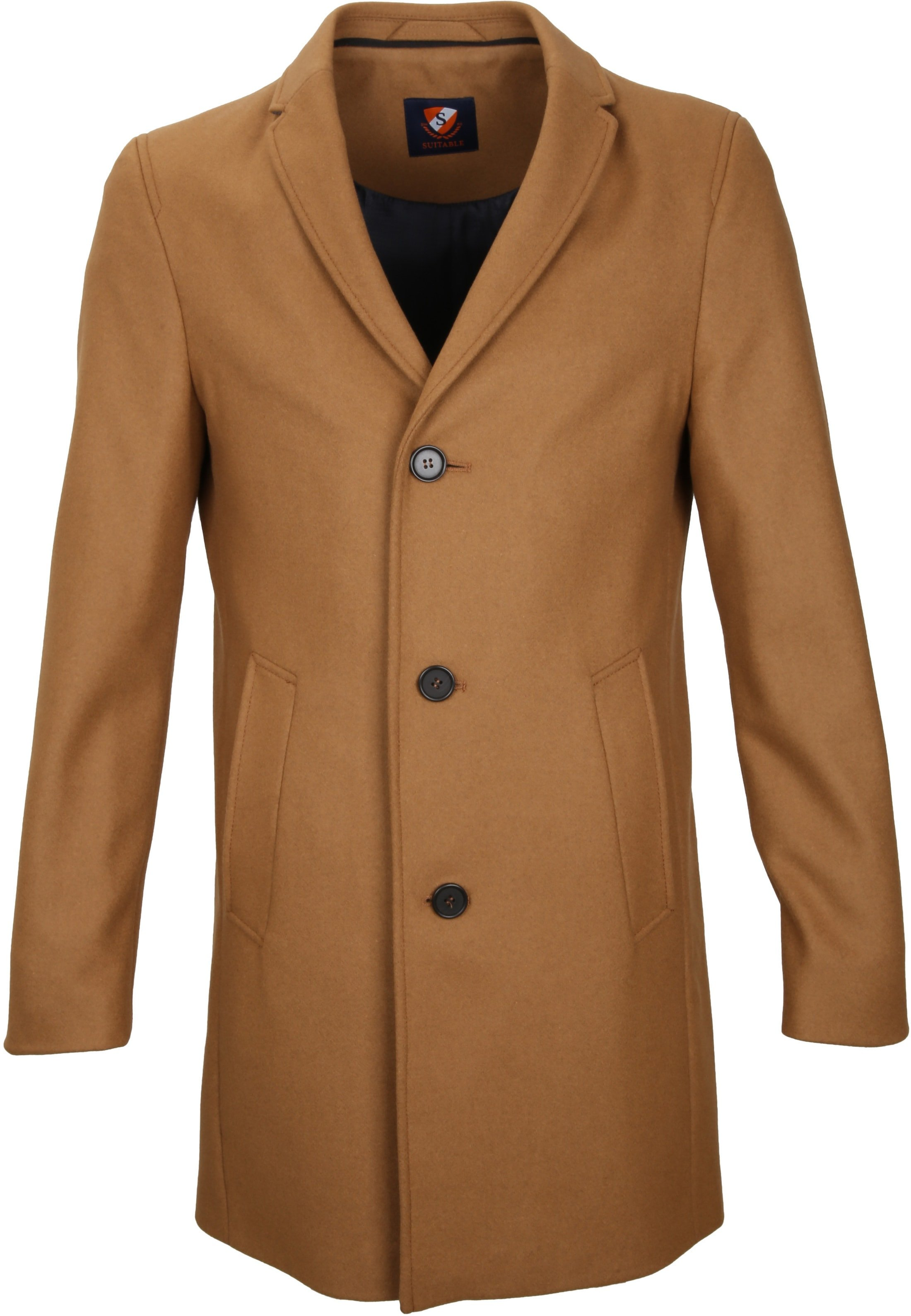 Suitable Coat Hans Melton Camel foto 1