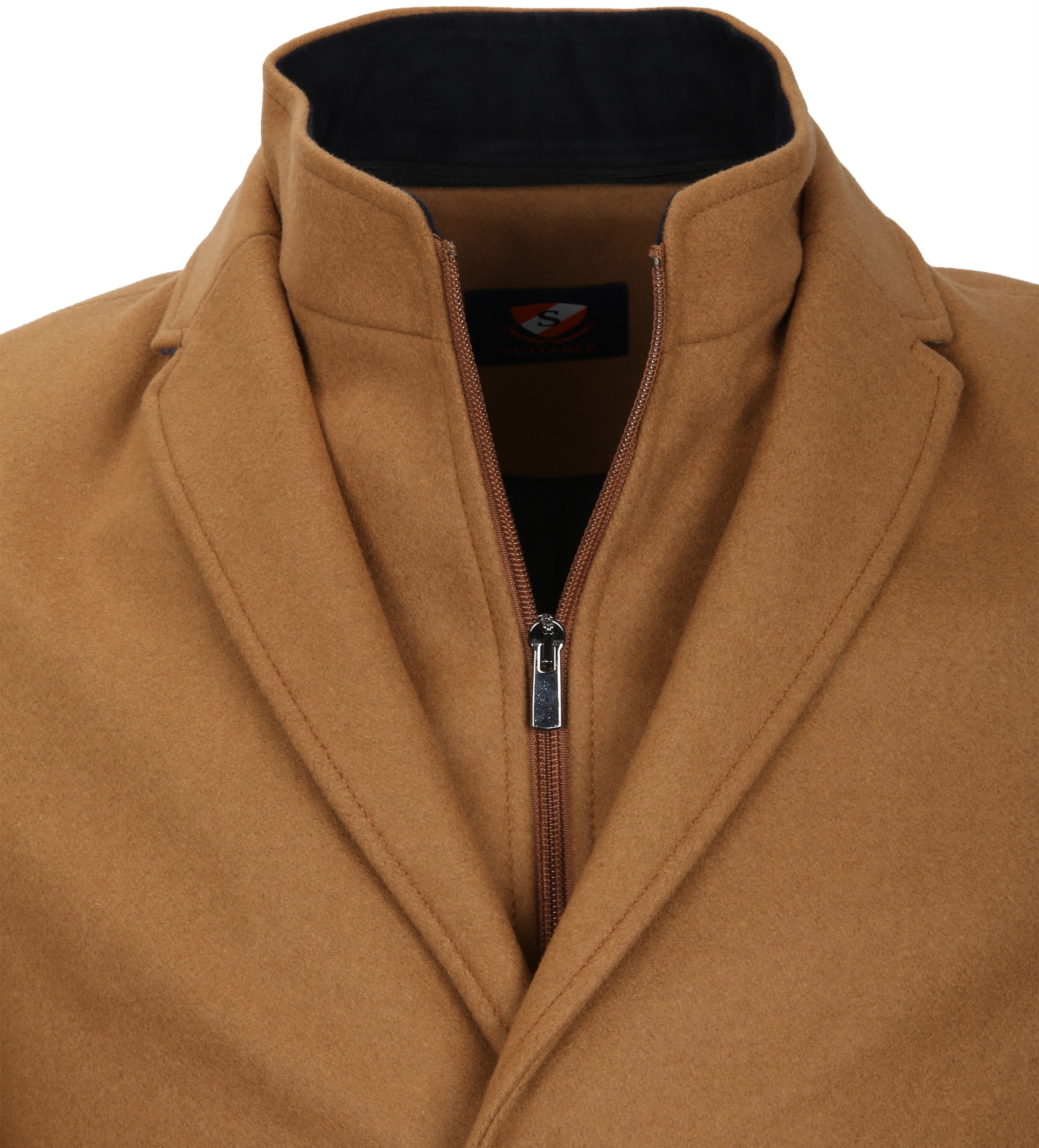 Suitable Coat Hans Melton Camel foto 2