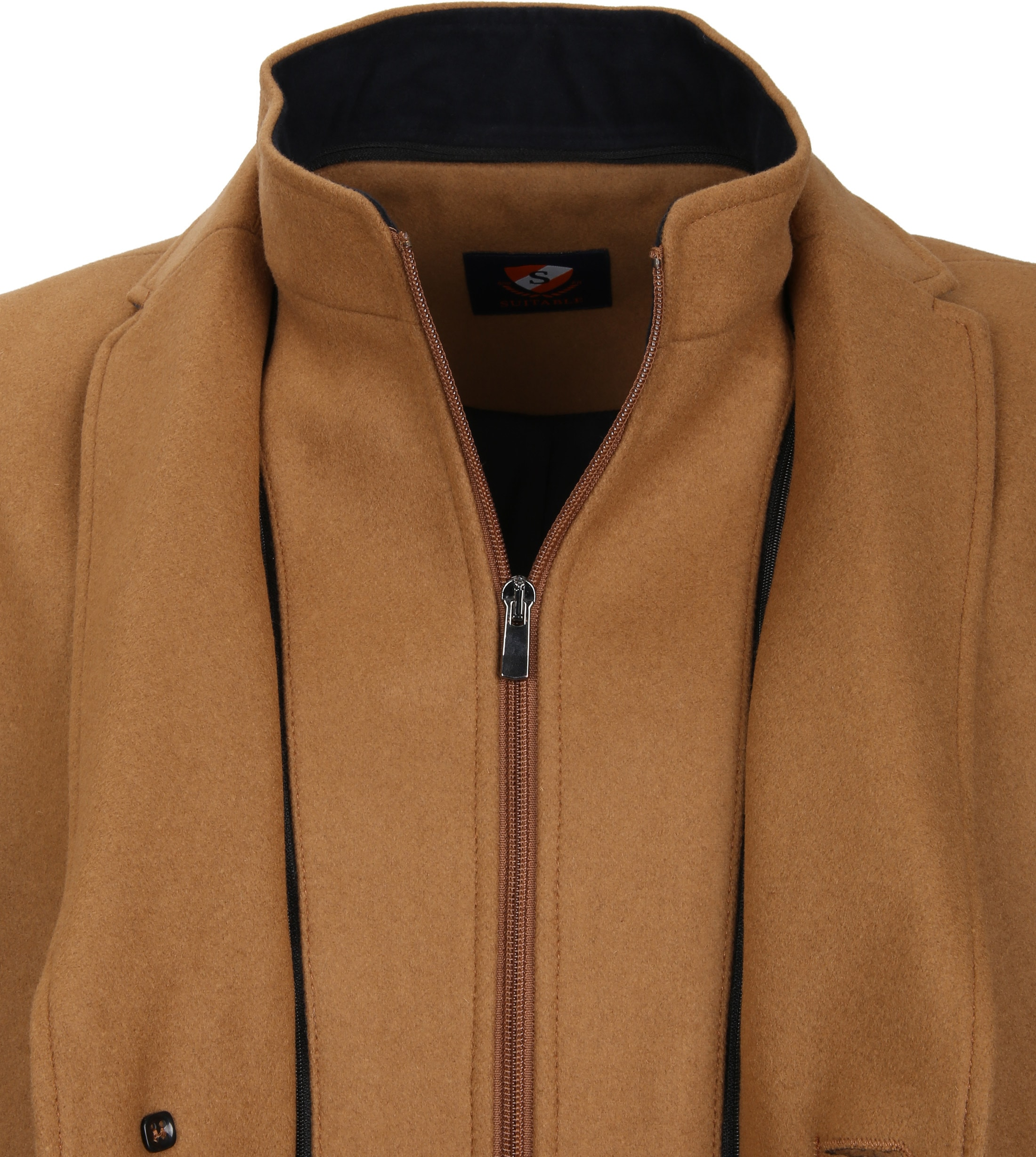 Suitable Coat Hans Melton Camel foto 3