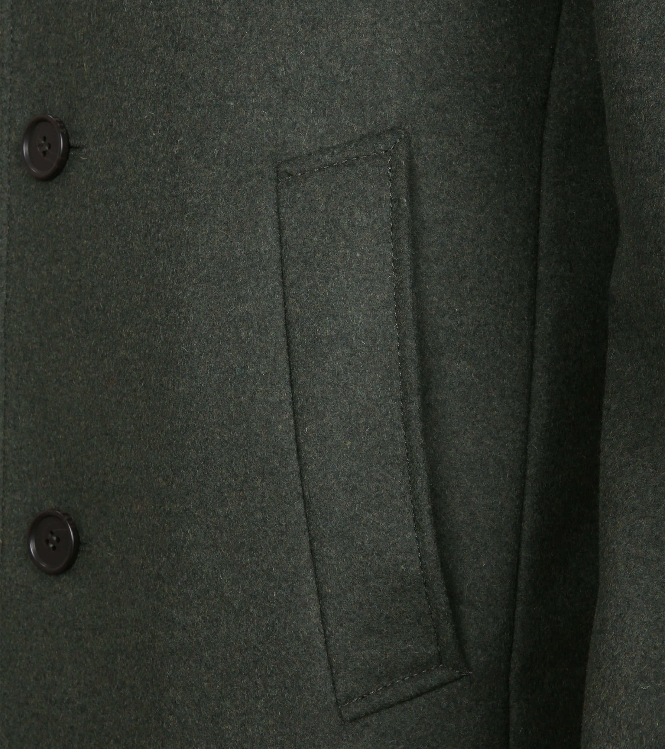 Suitable Coat Hans Melton Dark Green foto 5