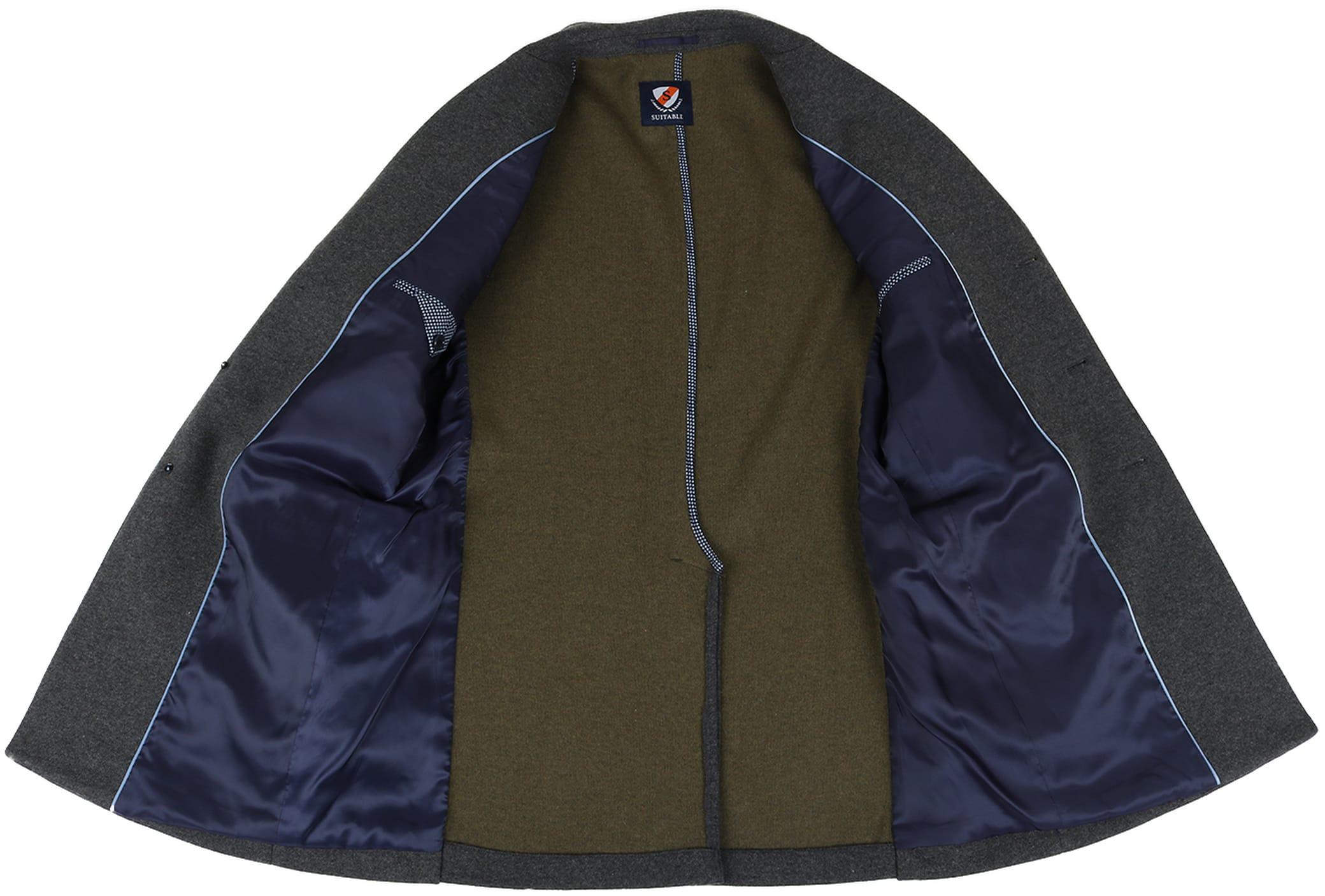 Suitable Coat Hendrik Antraciet foto 5