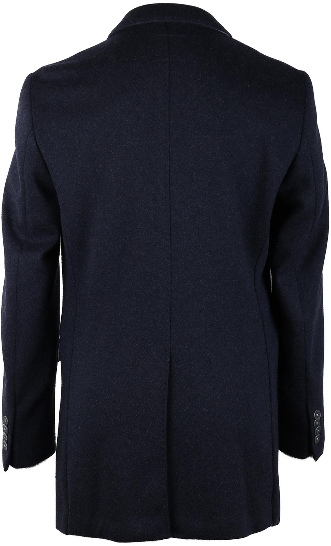 Suitable Coat Hendrik Donkerblauw foto 1