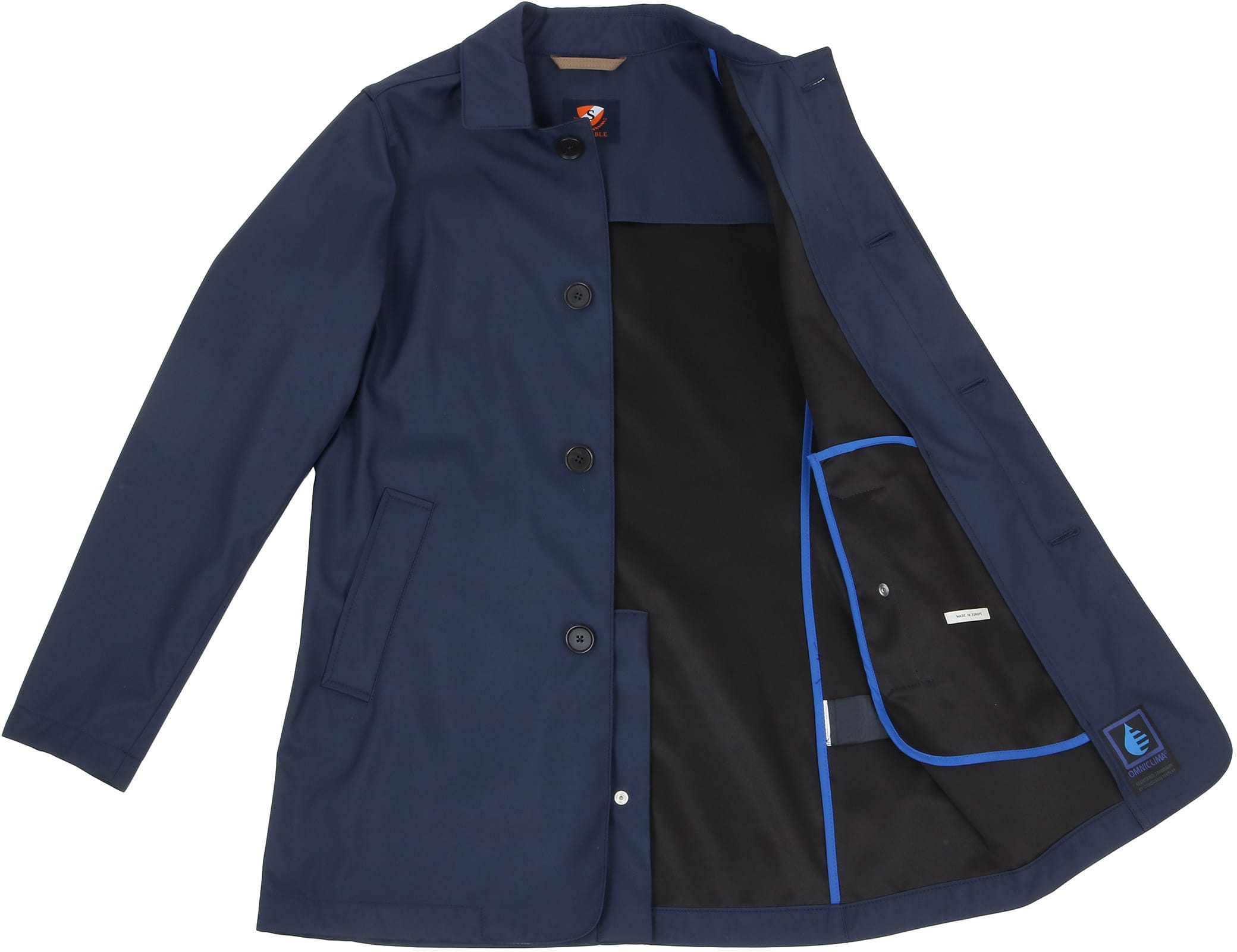 Suitable Coat Richard Navy foto 4