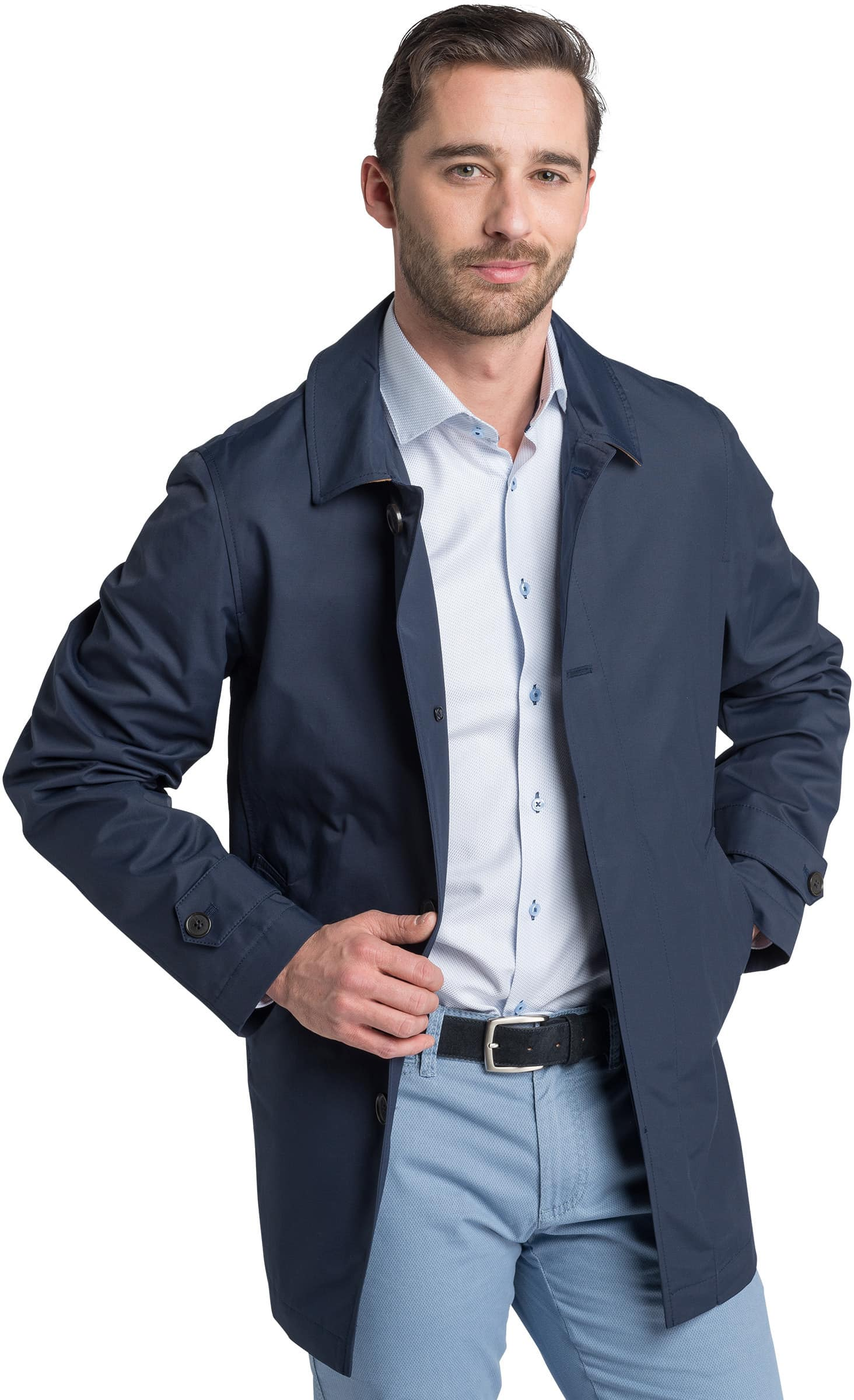 Suitable Coat Rosewood Navy foto 1