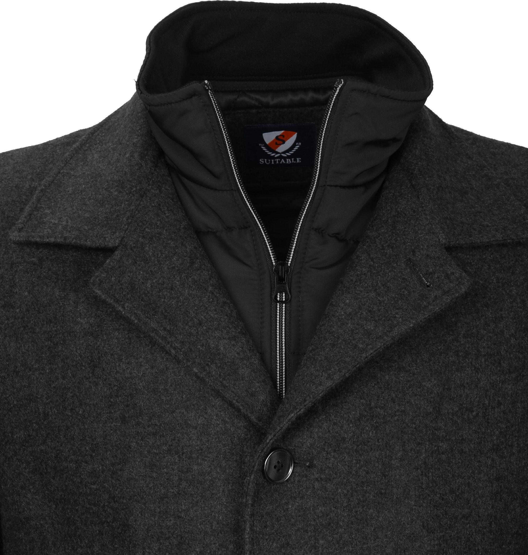 Suitable Coat Soest Antraciet foto 2