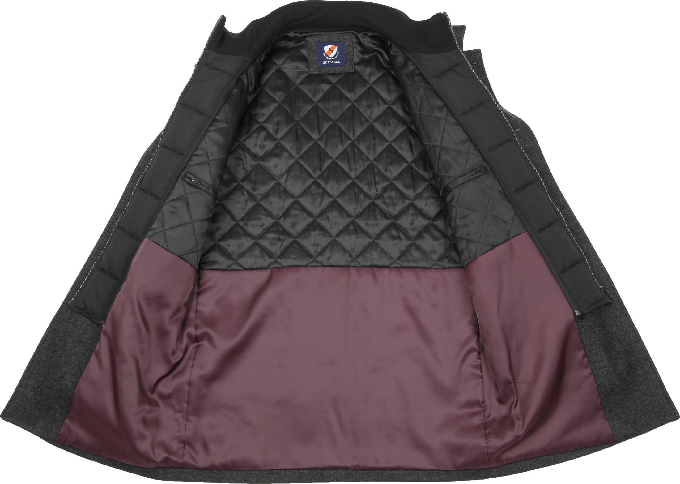 Suitable Coat Soest Antraciet foto 6