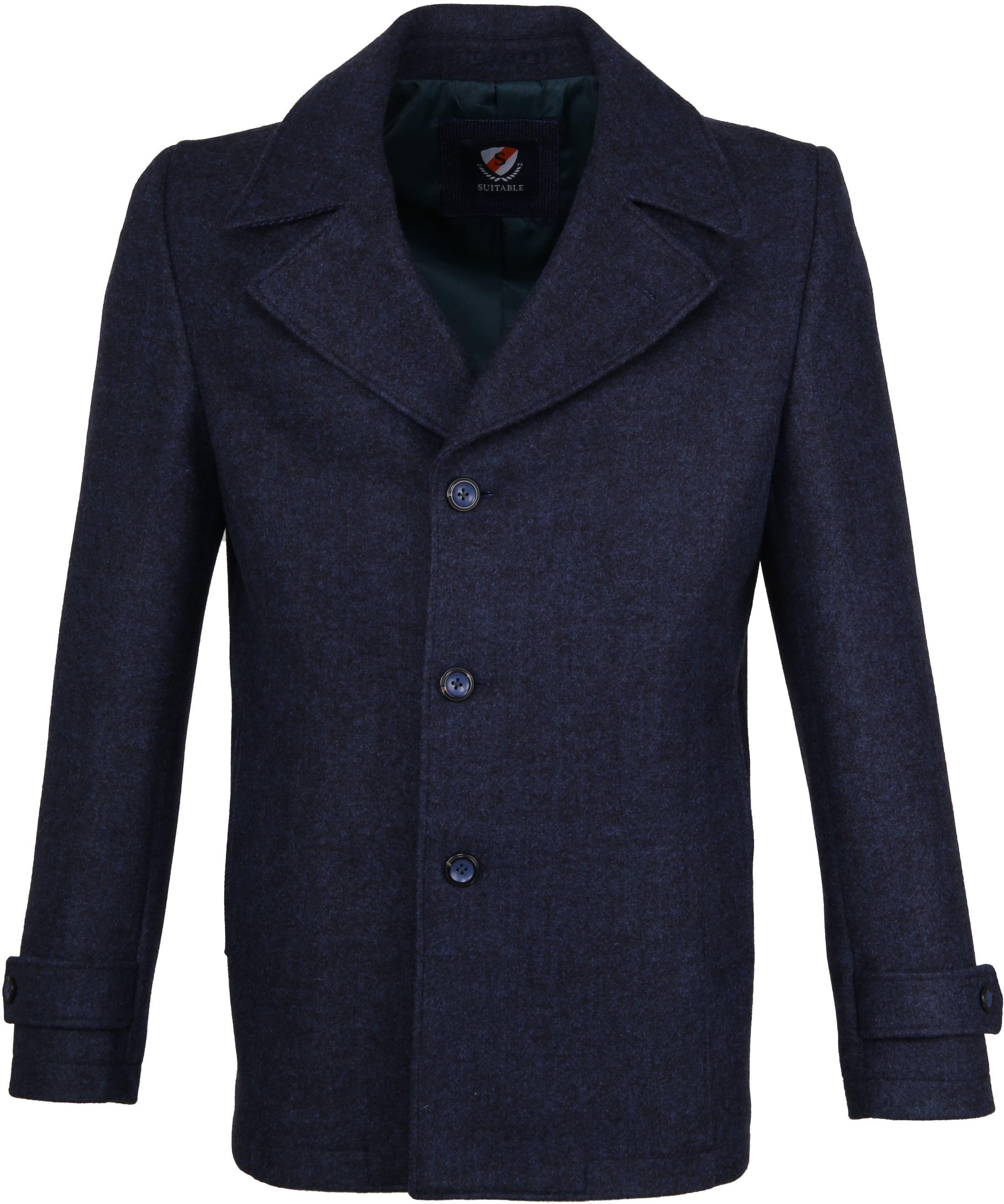 Suitable Coat Spaarne Indigo