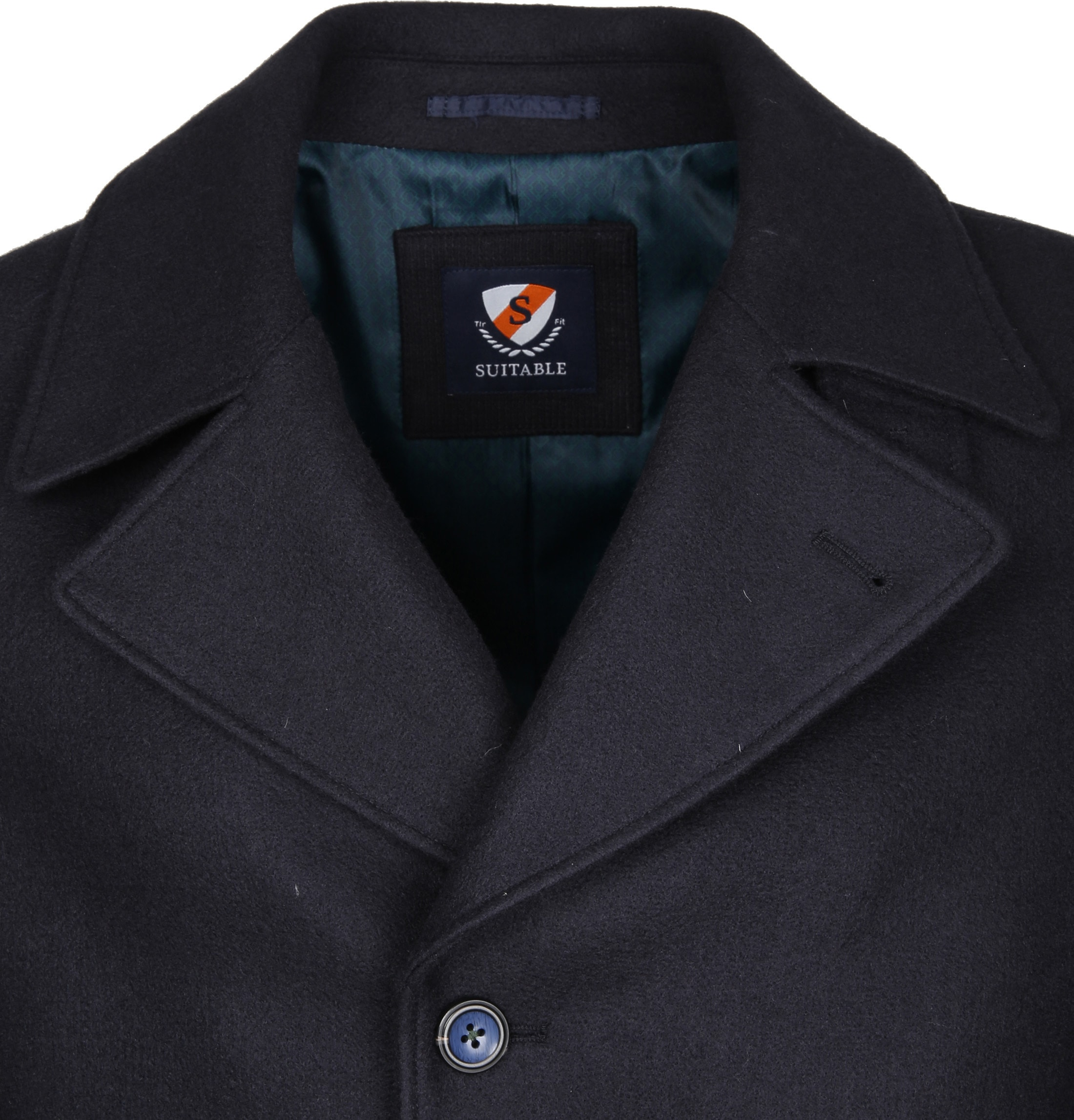 Suitable Coat Spaarne Navy foto 1