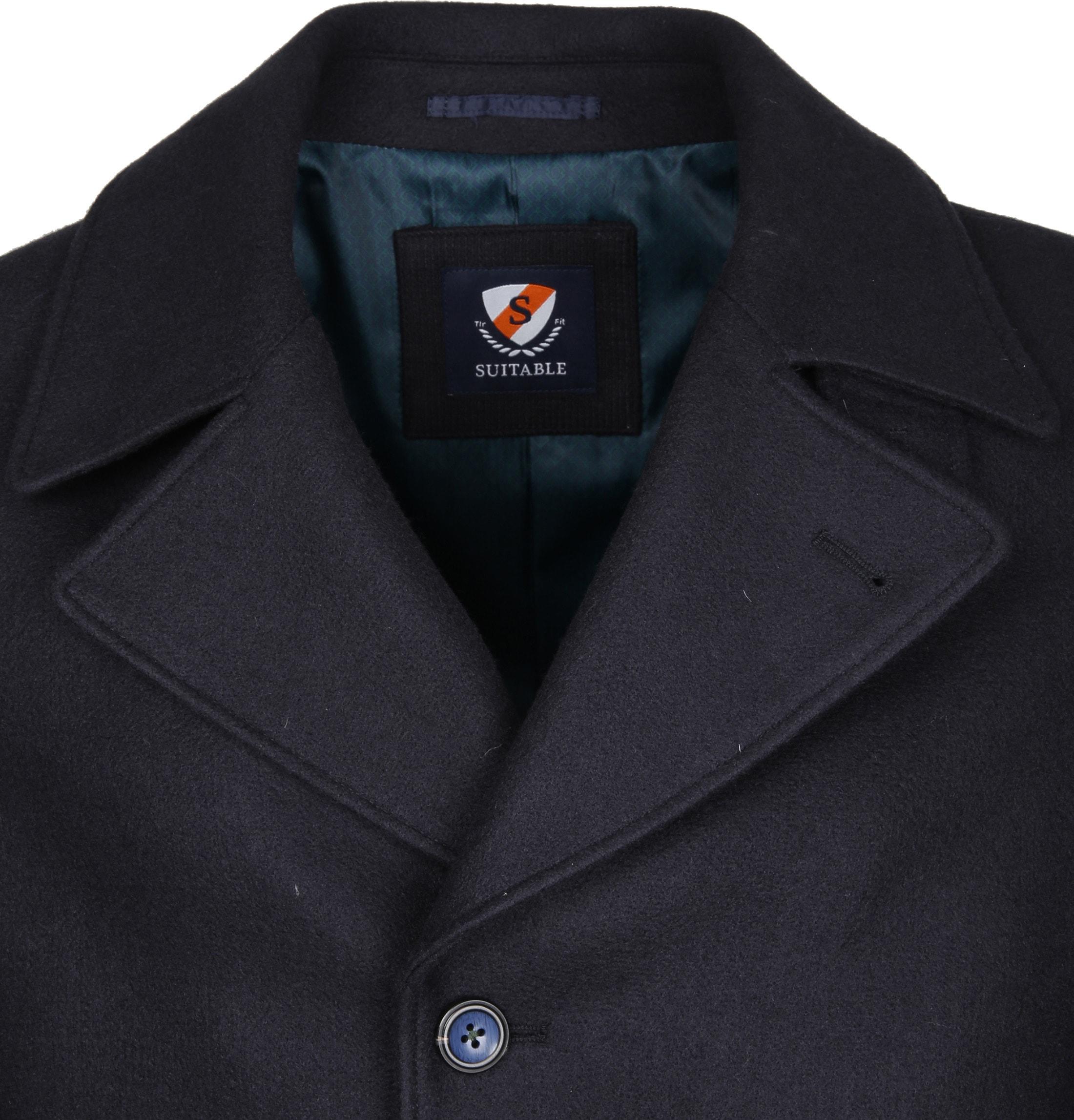Suitable Coat Spaarne Navy