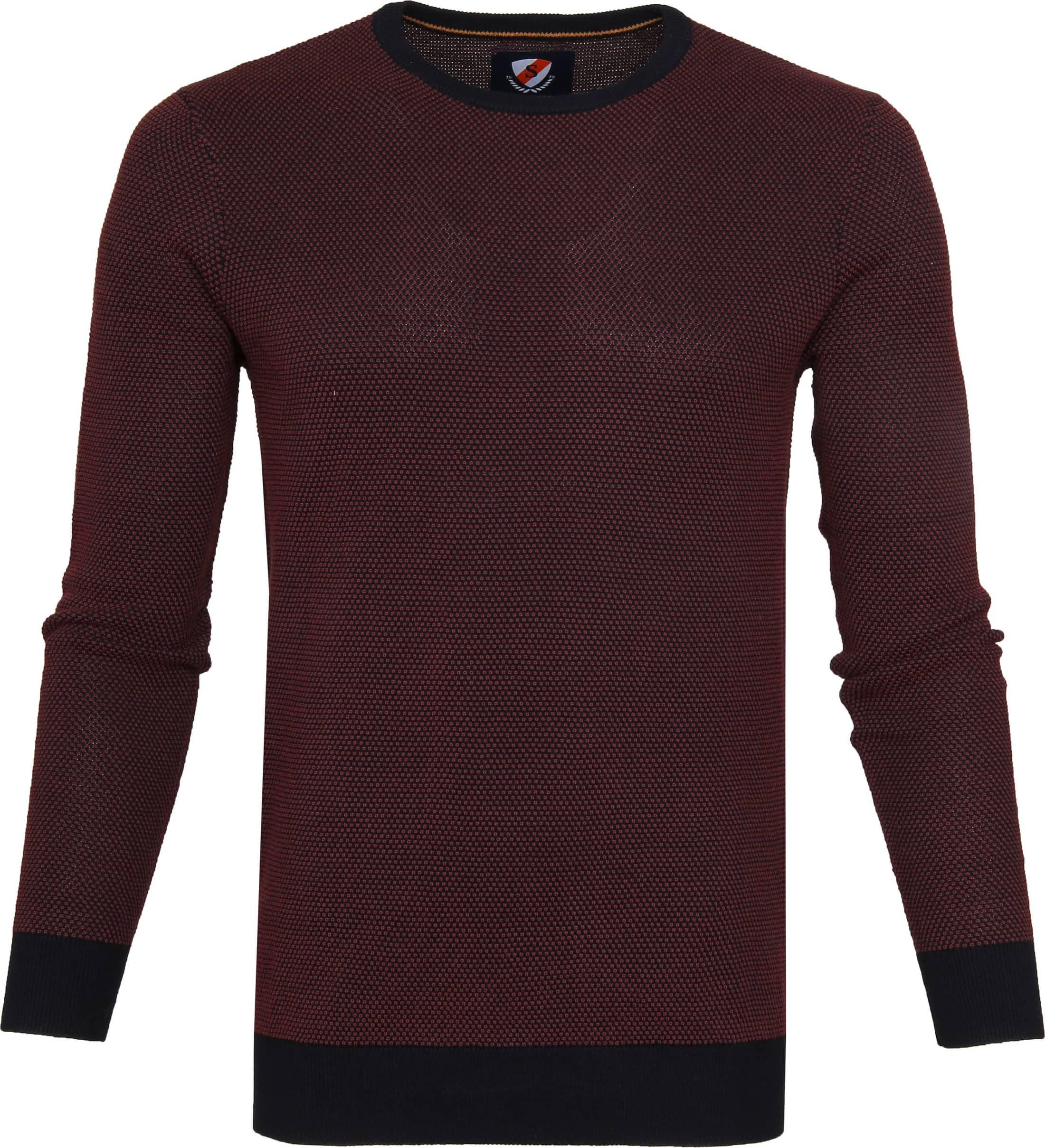 Suitable Cotton Bince Pullover Purple