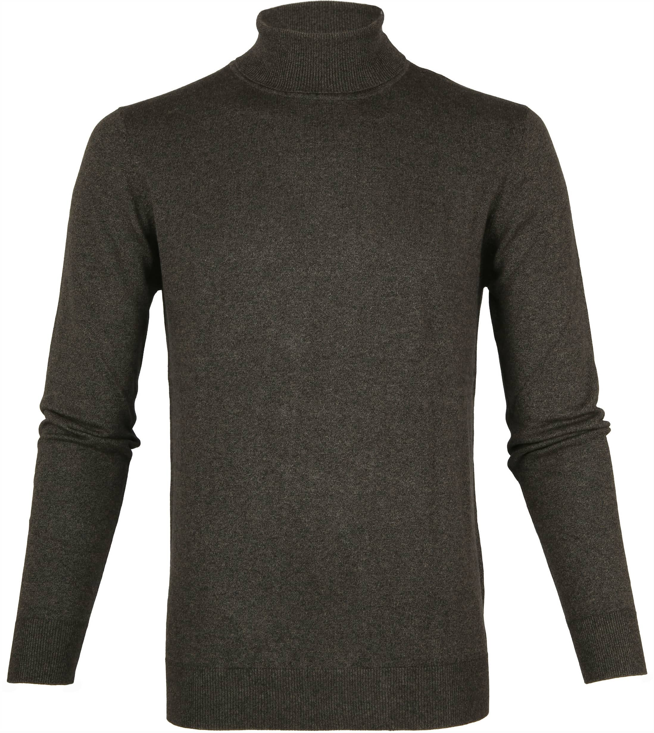 Suitable Cotton Turtleneck Kenjio Dark Green foto 0