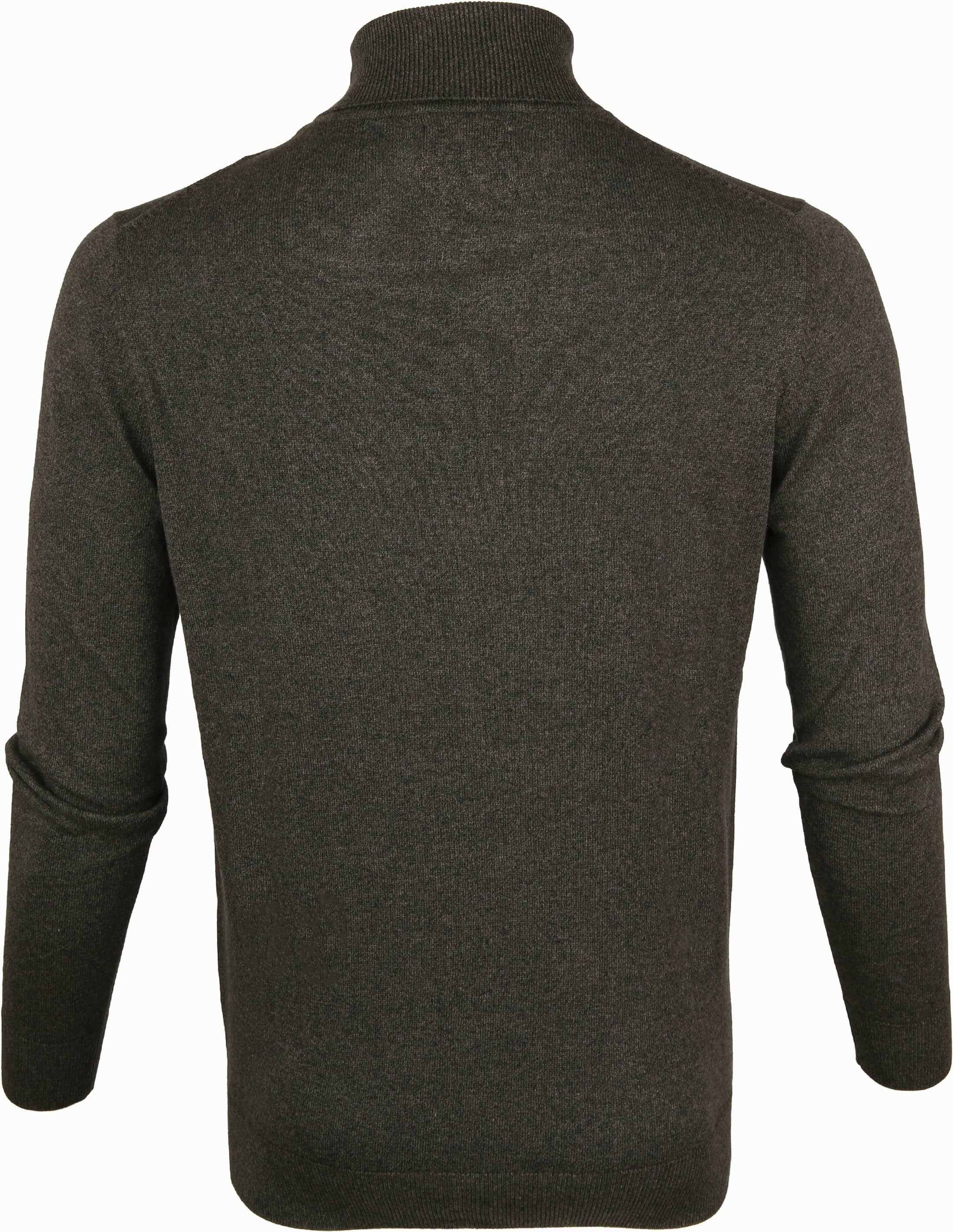 Suitable Cotton Turtleneck Kenjio Dark Green foto 2