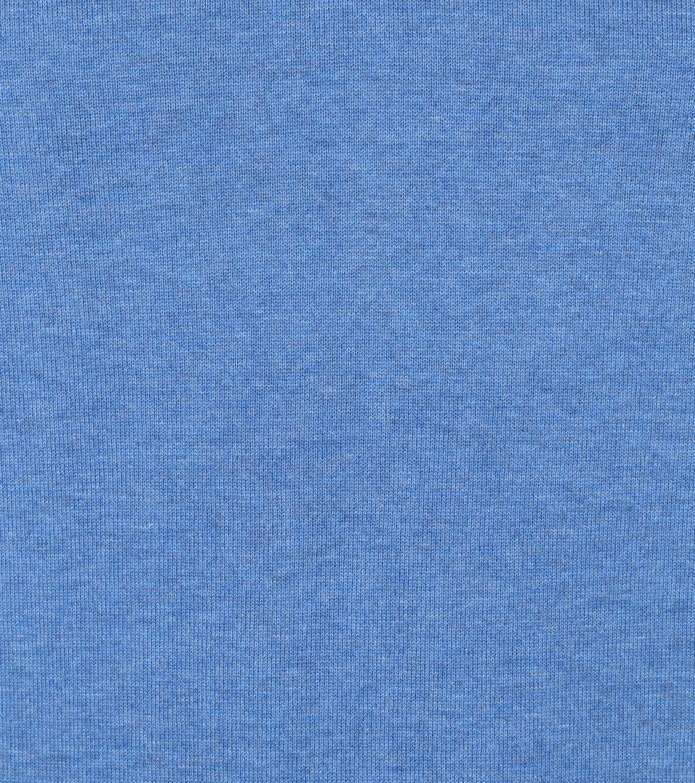 Suitable Cotton Vini Pullover V-Neck Mid Blue